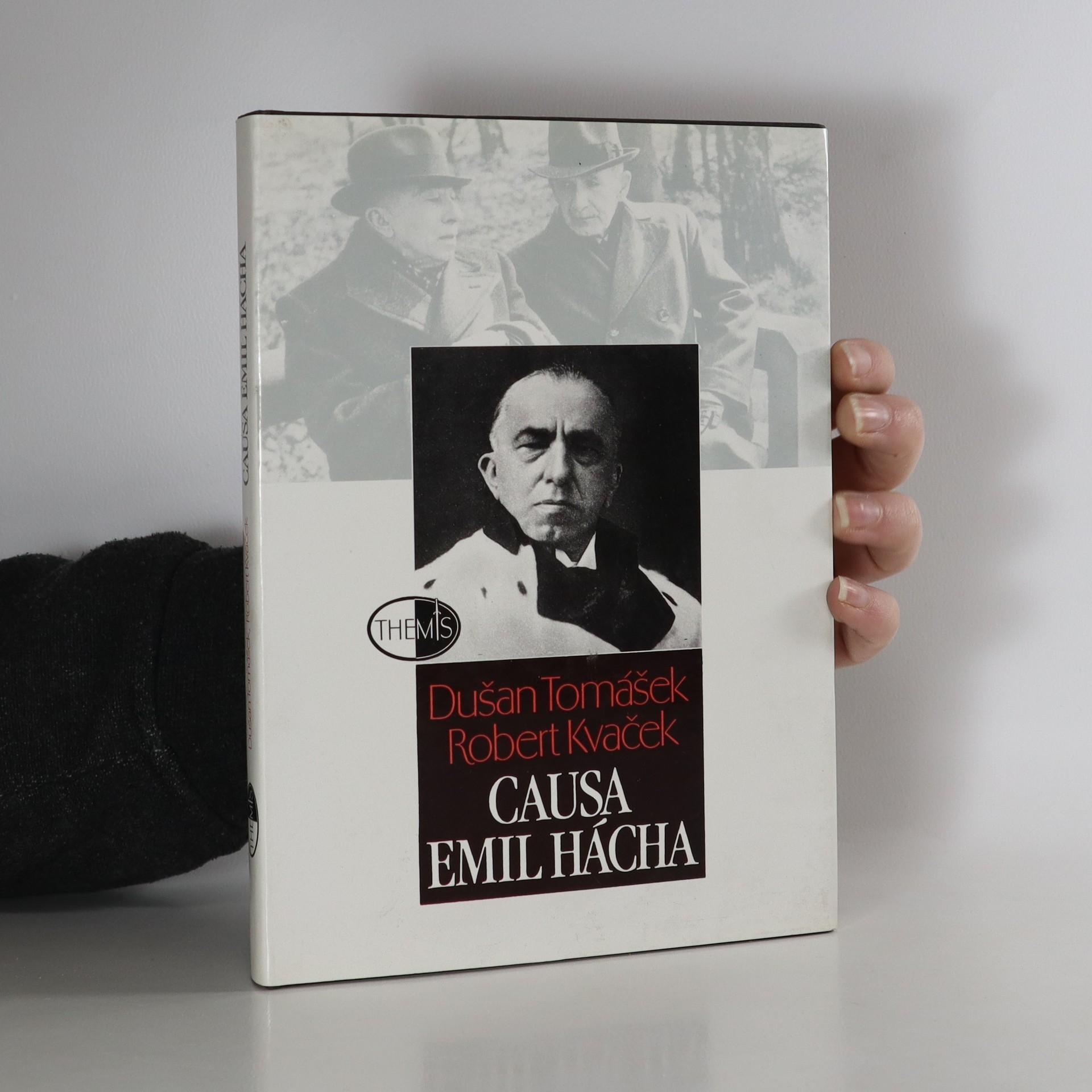 antikvární kniha Causa Emil Hácha, 1995