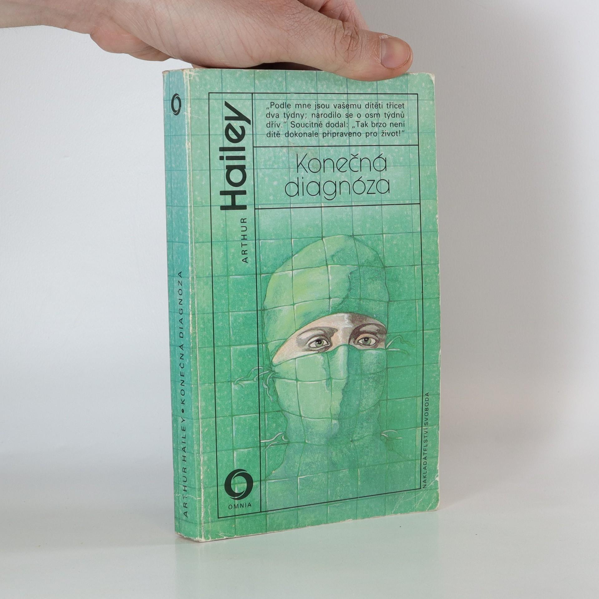 antikvární kniha Konečná diagnóza, 1991