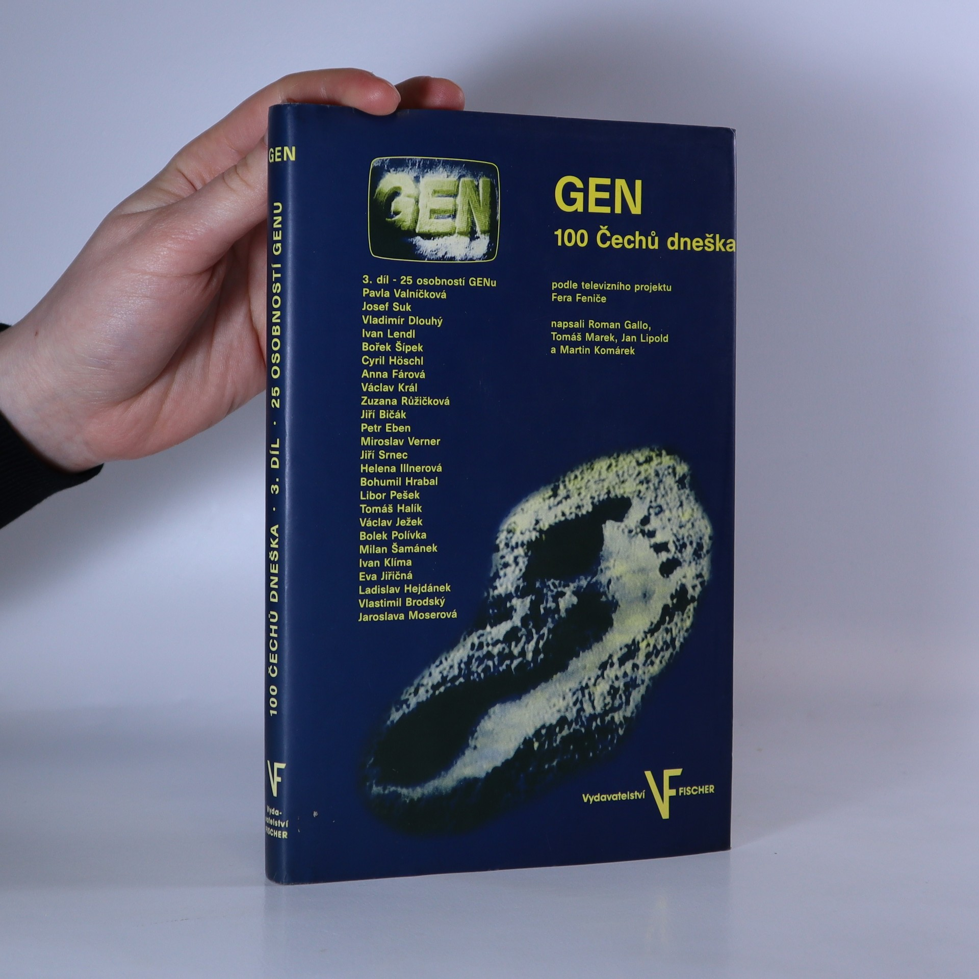 antikvární kniha GEN : 100 Čechů dneška 3. díl , 1995