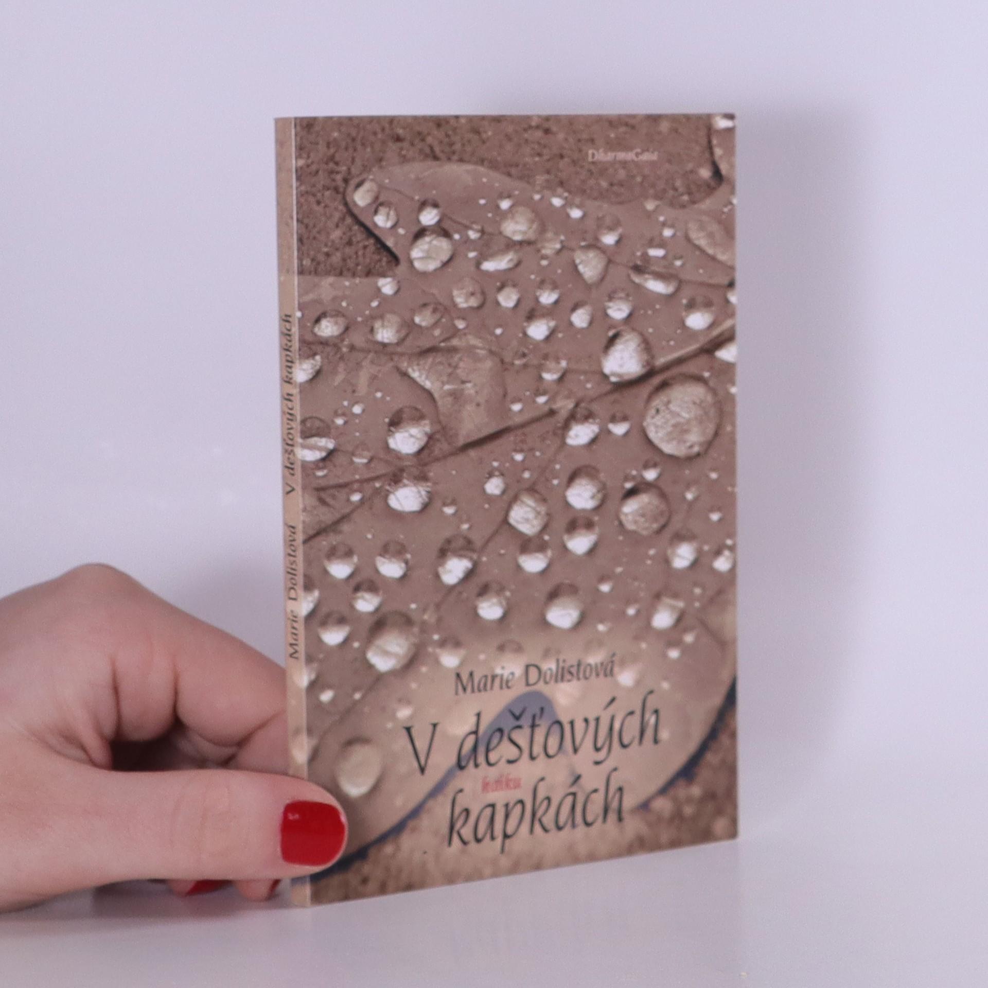 antikvární kniha V dešťových kapkách, 2017