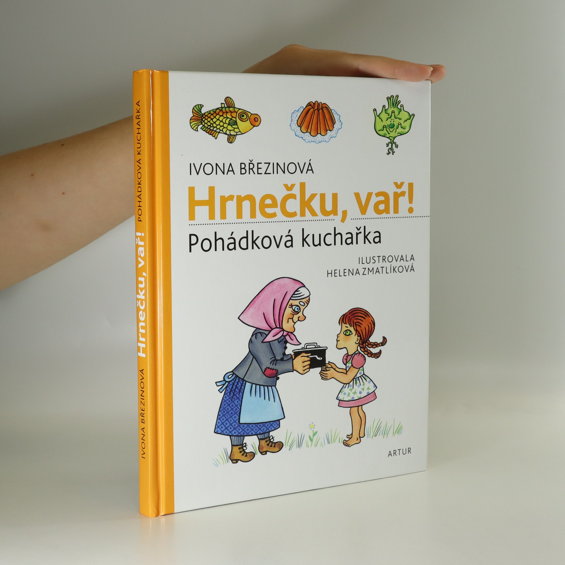 antikvární kniha Hrnečku, vař! : pohádková kuchařka, 2018