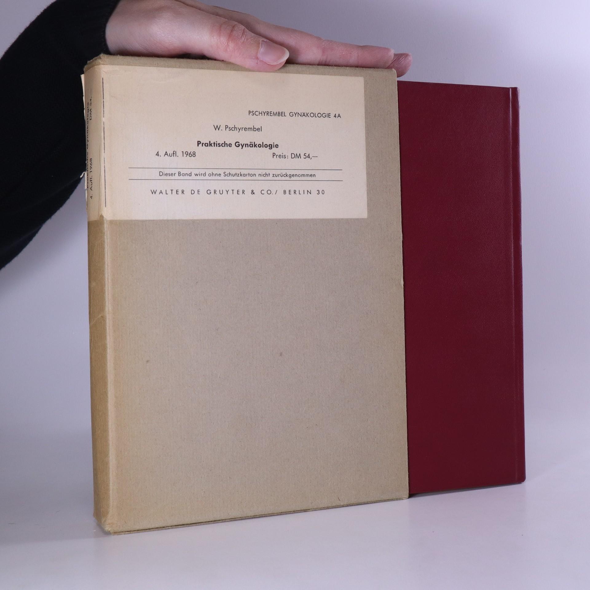 antikvární kniha Praktische Gynäkologie. Für Studierende und Ärzte, 1968