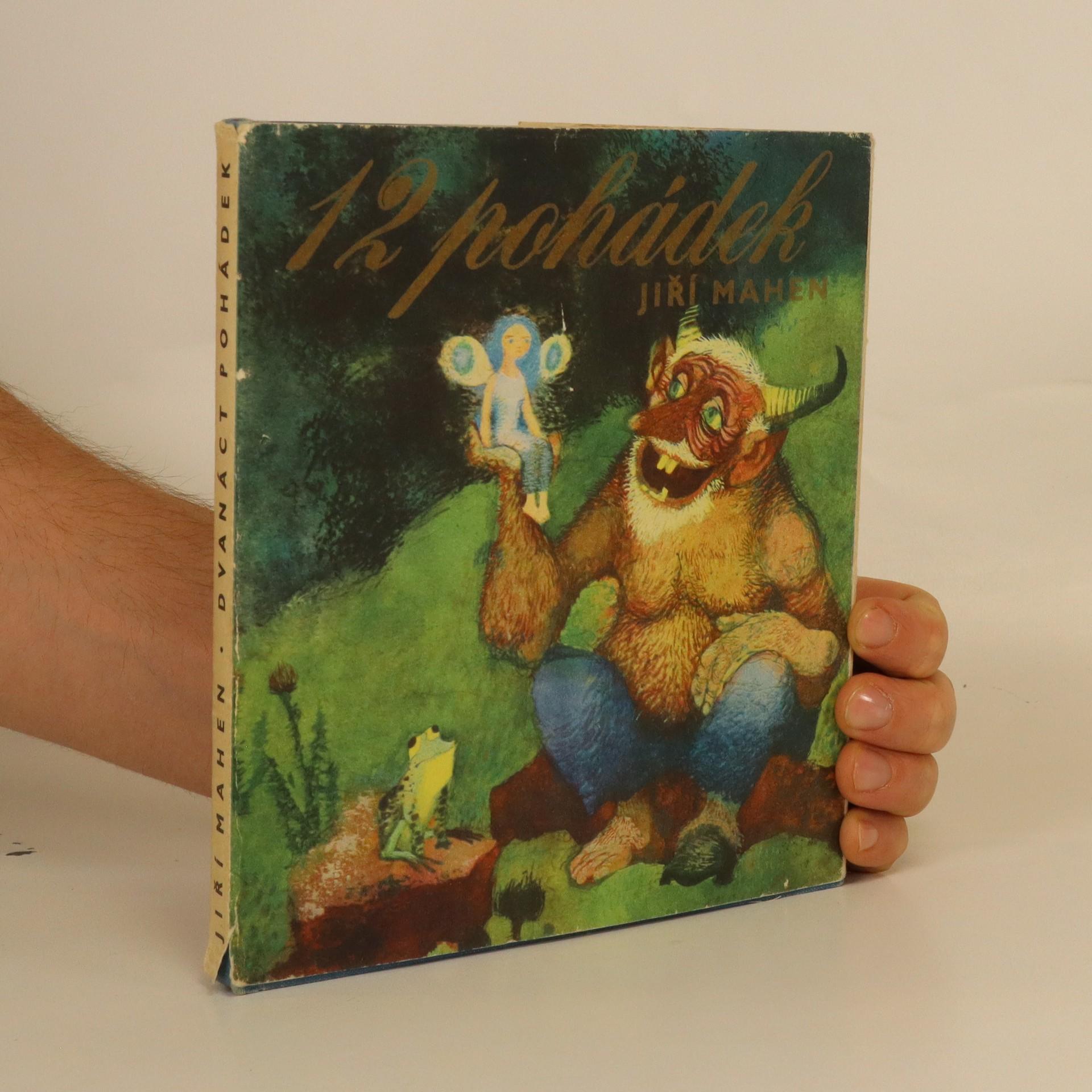 antikvární kniha Dvanáct pohádek, 1969