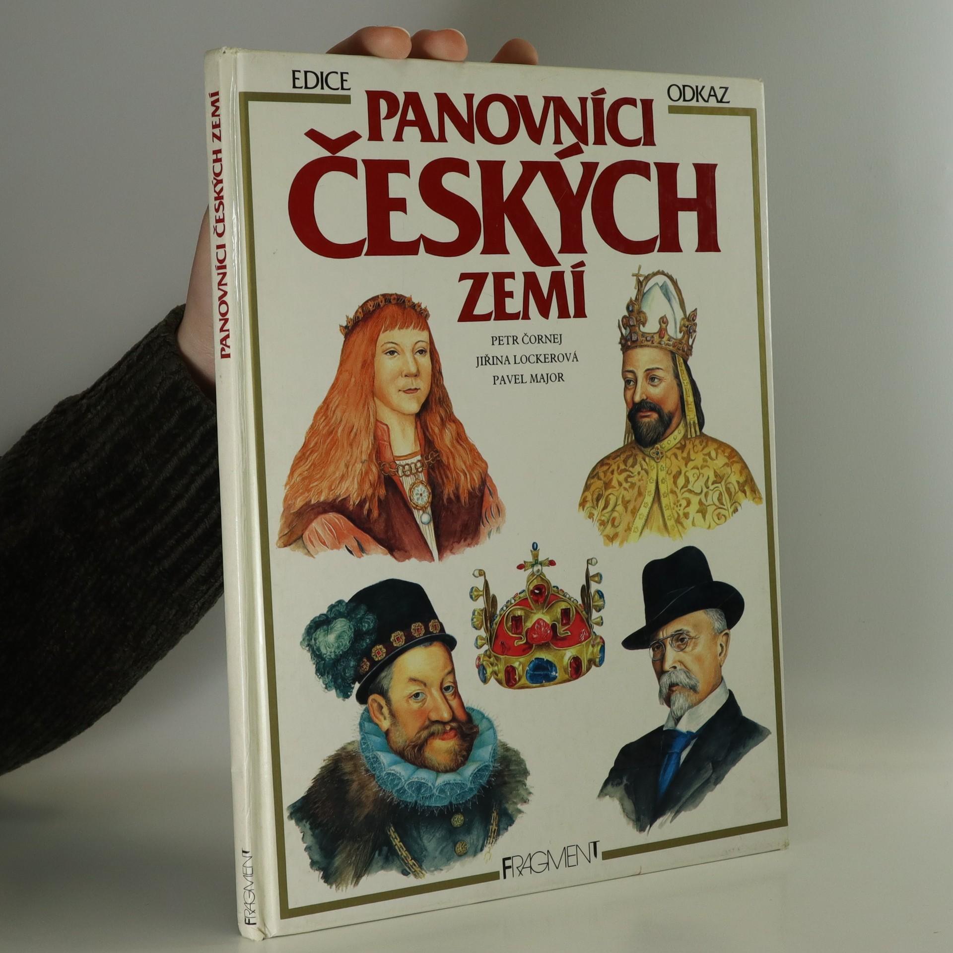 antikvární kniha Panovníci Českých zemí, 1992