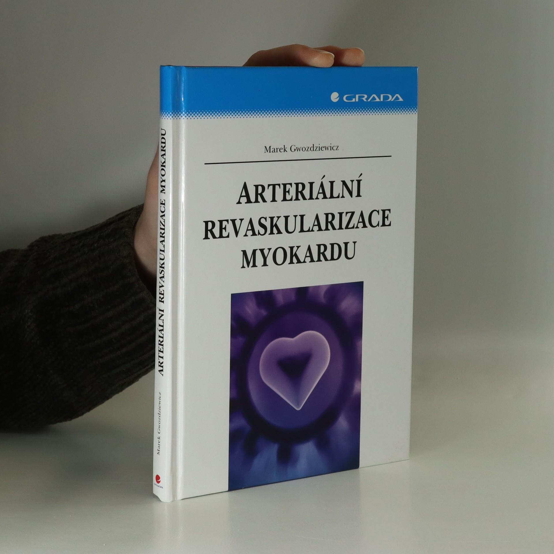 antikvární kniha Arteriální revaskularizace myokardu, 2007