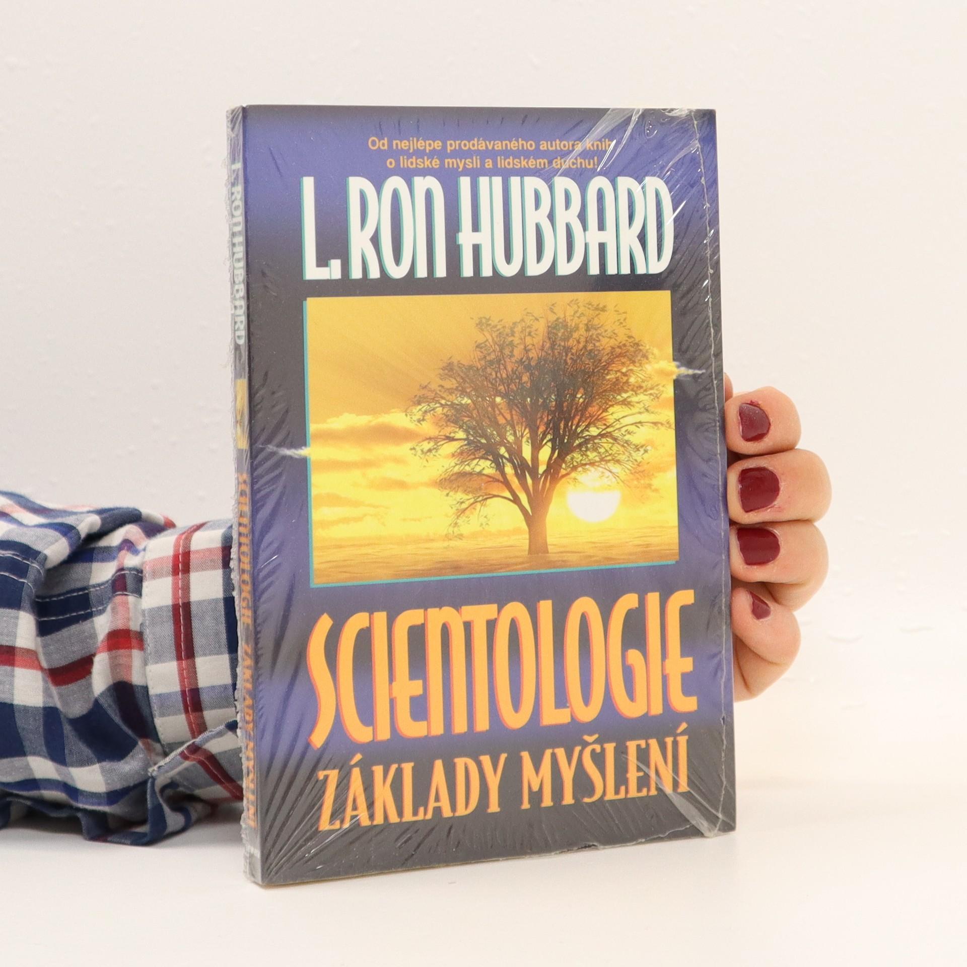 antikvární kniha Scientologie : základy myšlení, neuveden