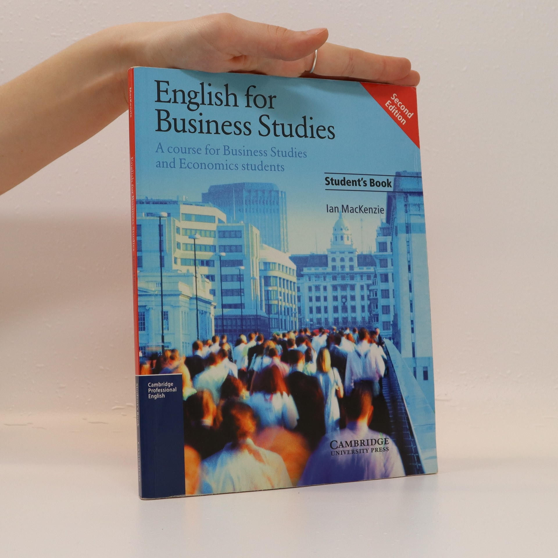 antikvární kniha English for Business Studies : a course for business studies and economics students : student´s book, 2004