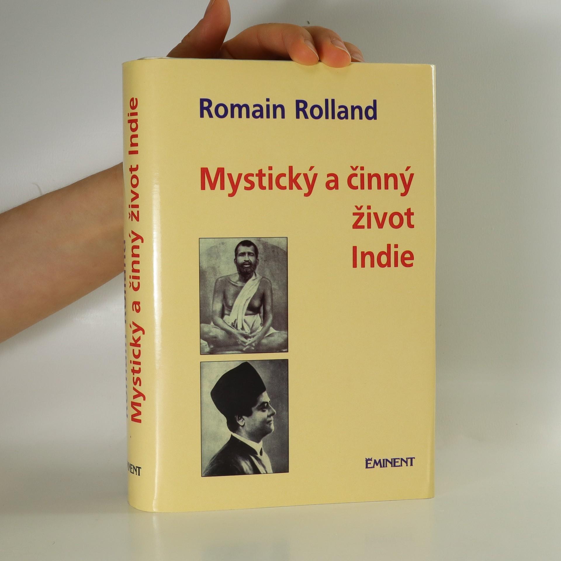 antikvární kniha Mystický a činný život dnešní Indie, 1995