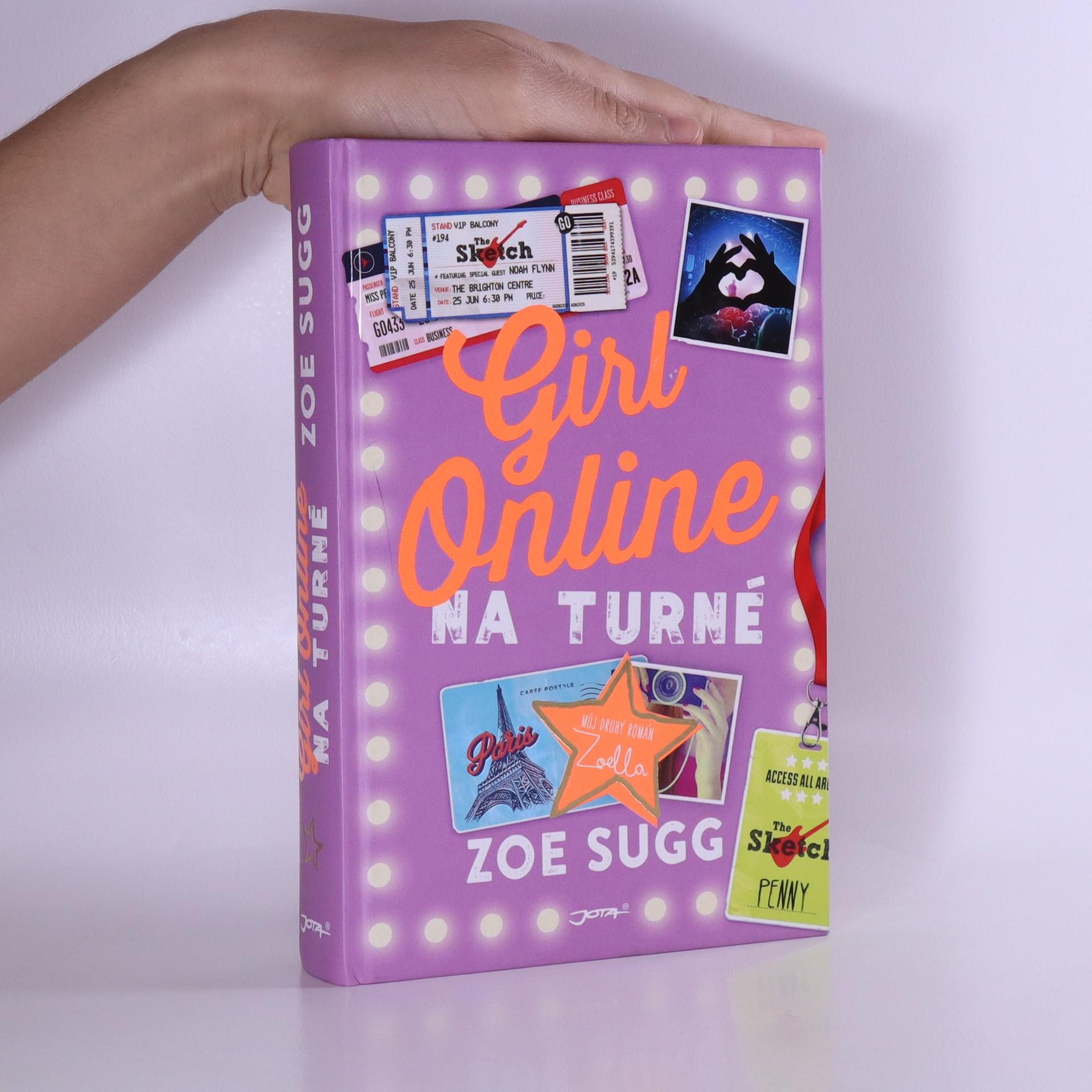 antikvární kniha Girl online na turné, 2016