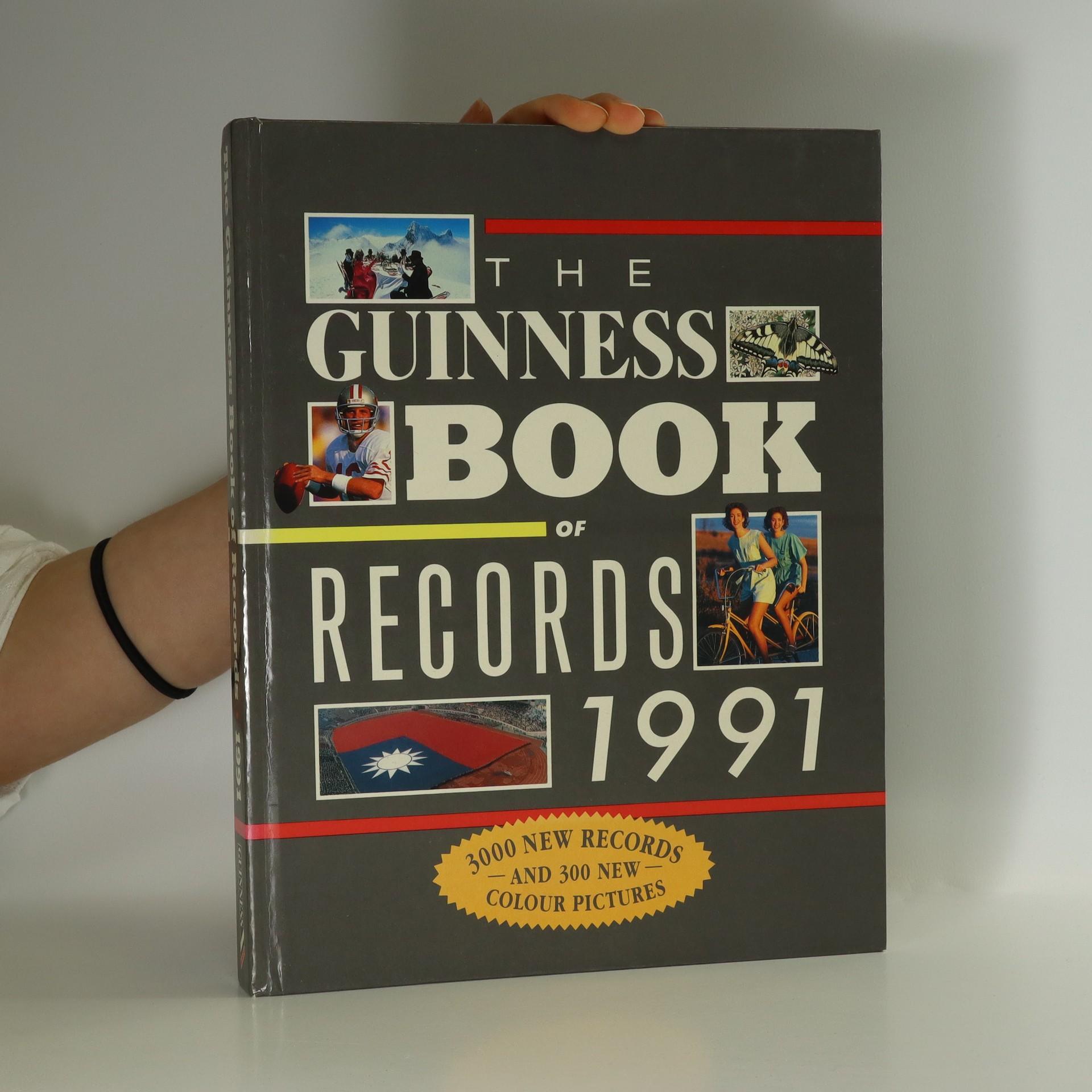 antikvární kniha The Guinness Book of records 1991, neuveden