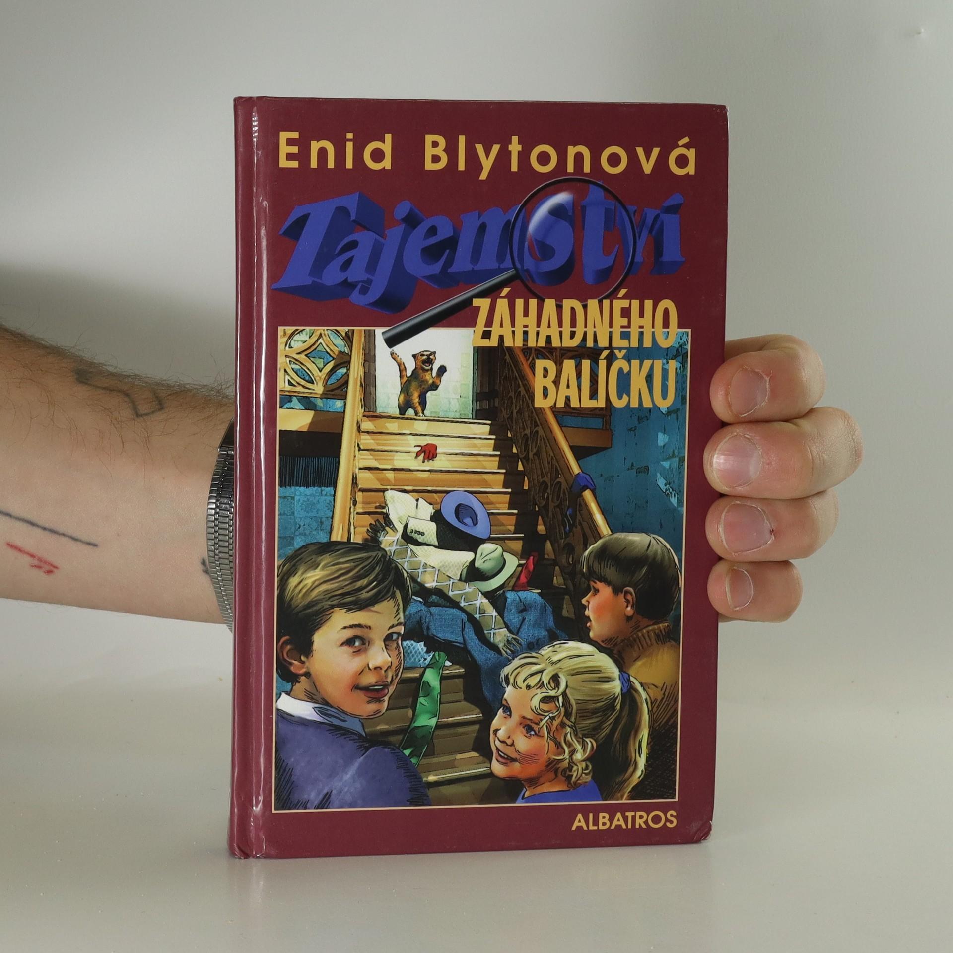 antikvární kniha Tajemství záhadného balíčku, 2003