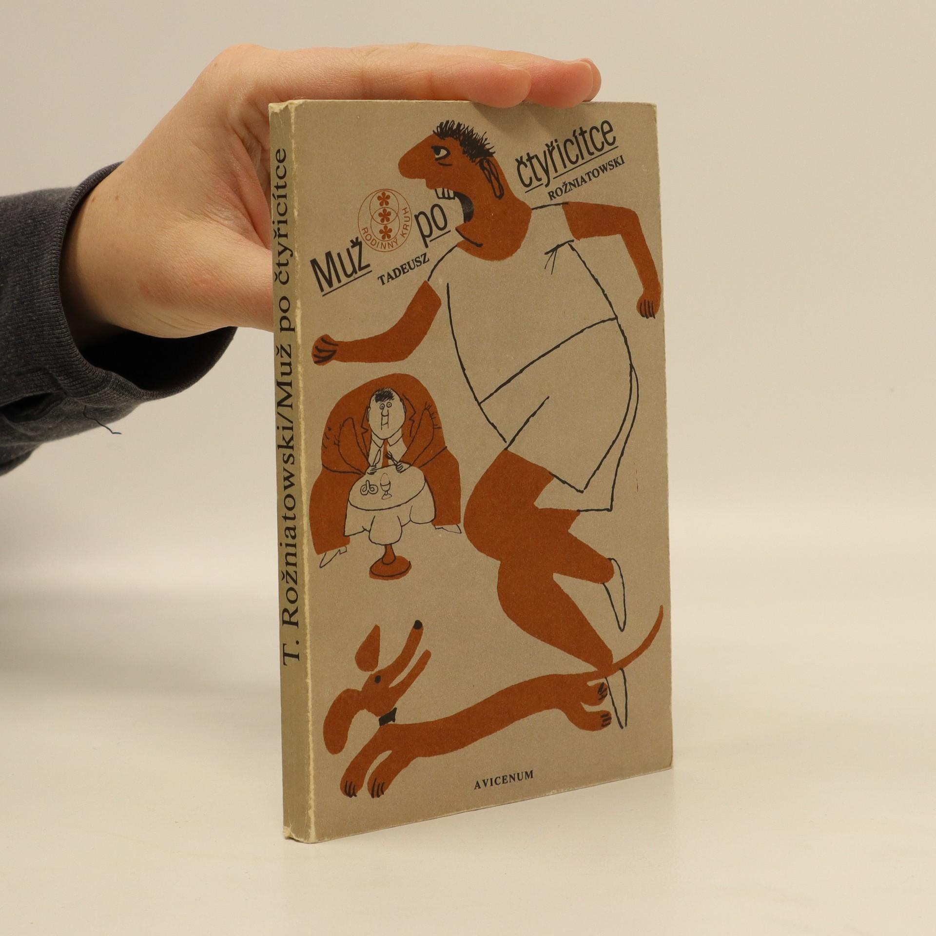 antikvární kniha Muž po čtyřicítce, 1980