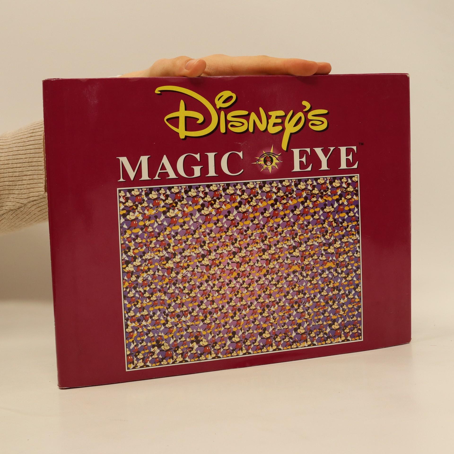 antikvární kniha Disney's Magic Eye. 3D Illusions, neuveden