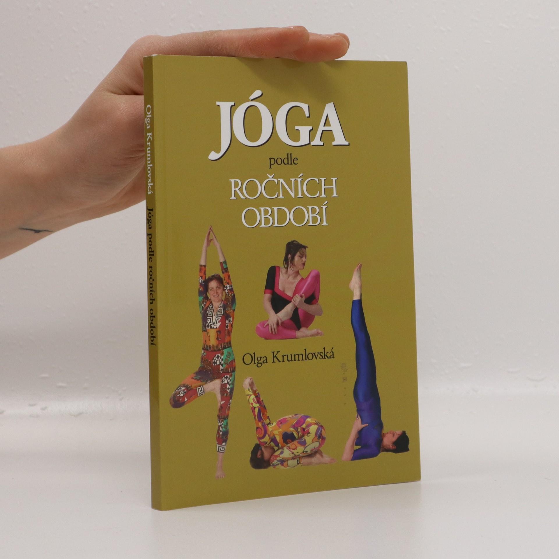 antikvární kniha Jóga podle ročních období, 2008
