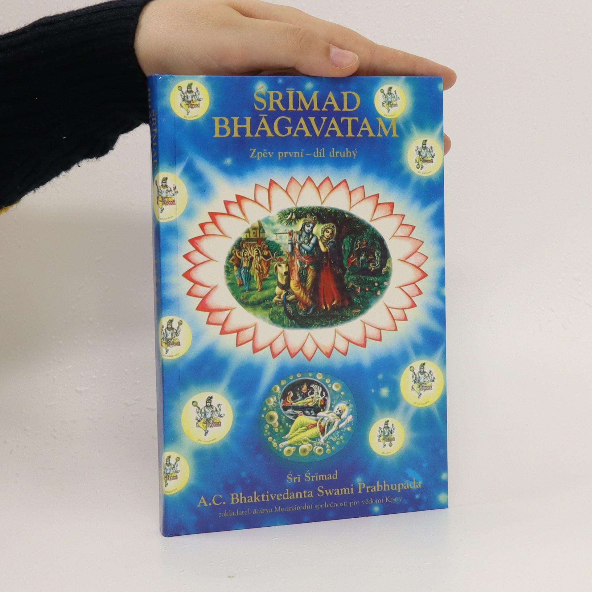antikvární kniha Srímad Bhágavatam : Zpěv první