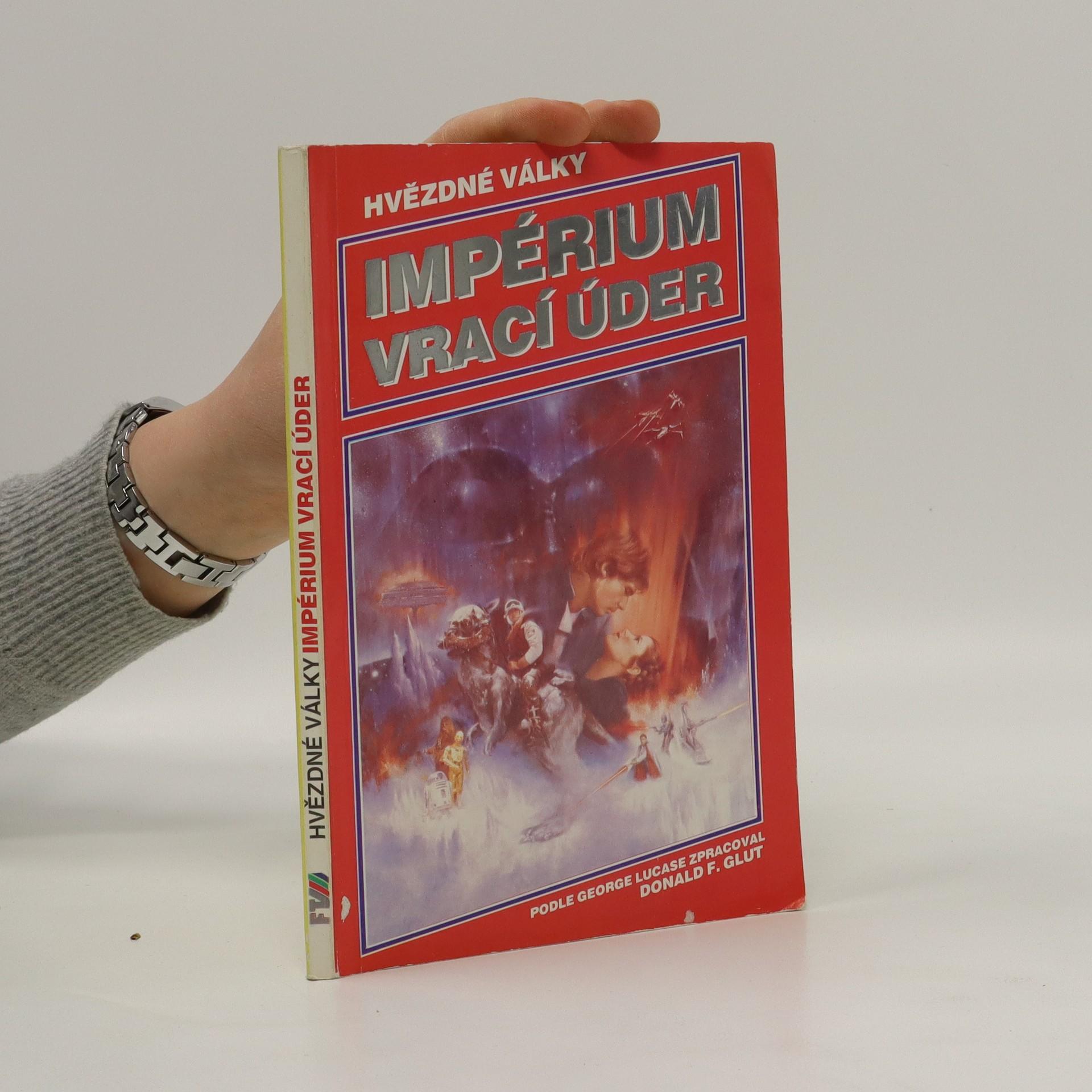 antikvární kniha Hvězdné války. Impérium vrací úder, 1992