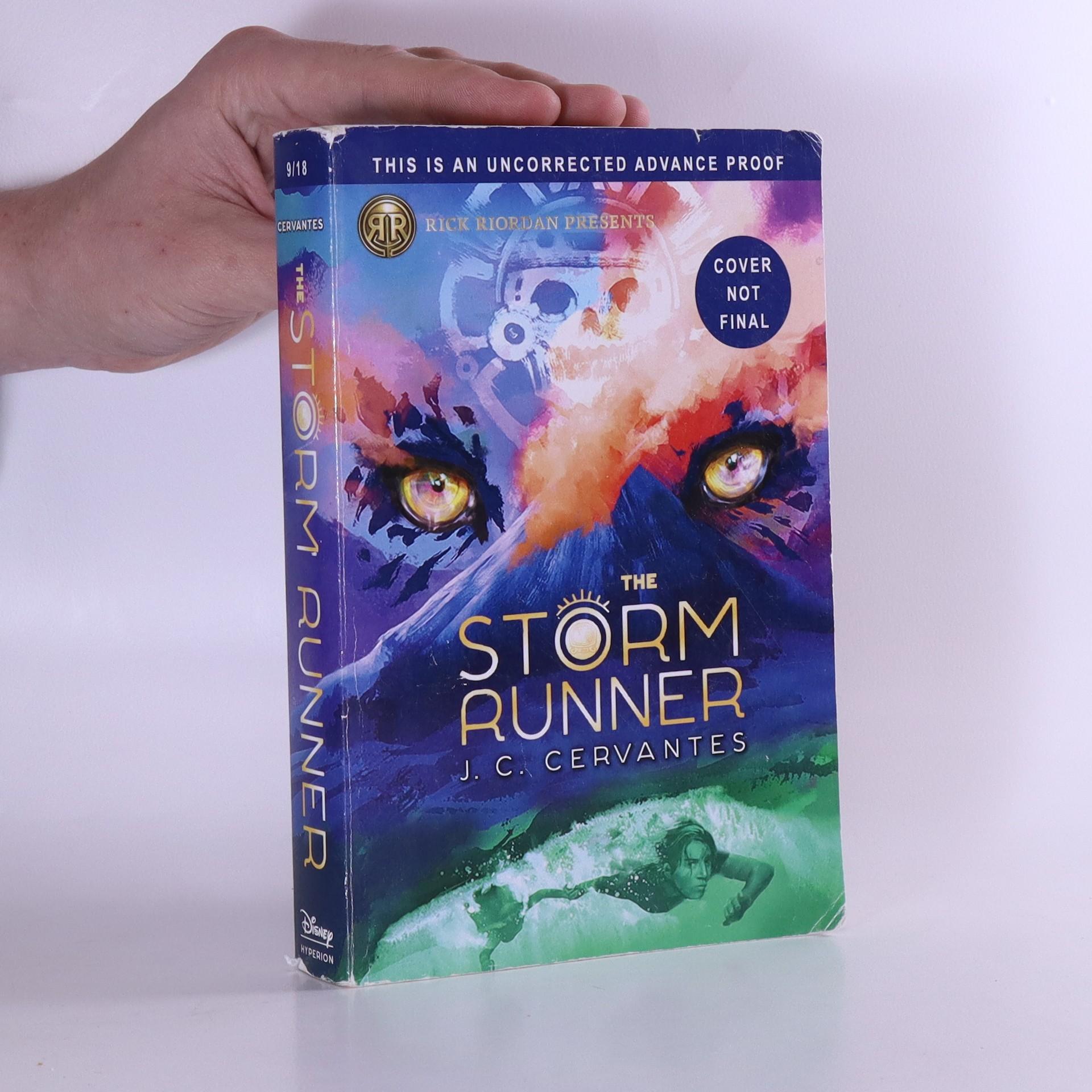 antikvární kniha The Storm Runner, 2018