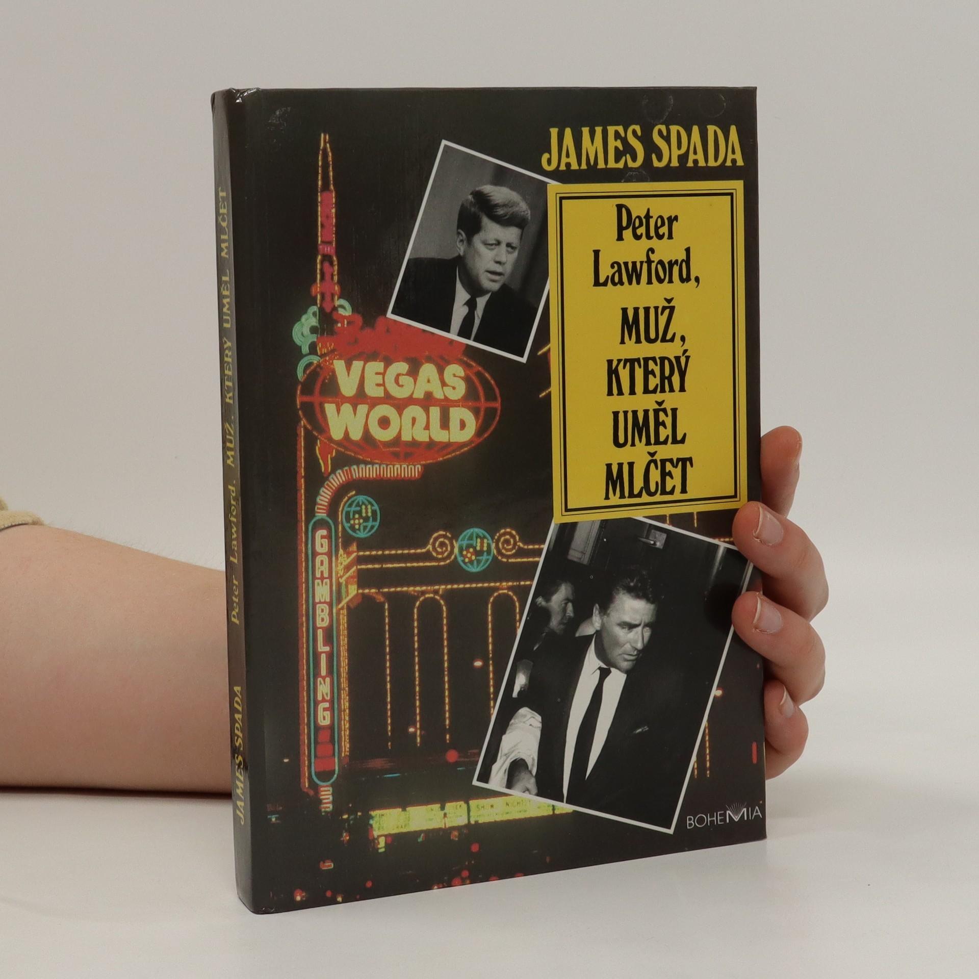 antikvární kniha Peter Lawford, muž, který uměl mlčet, 1994