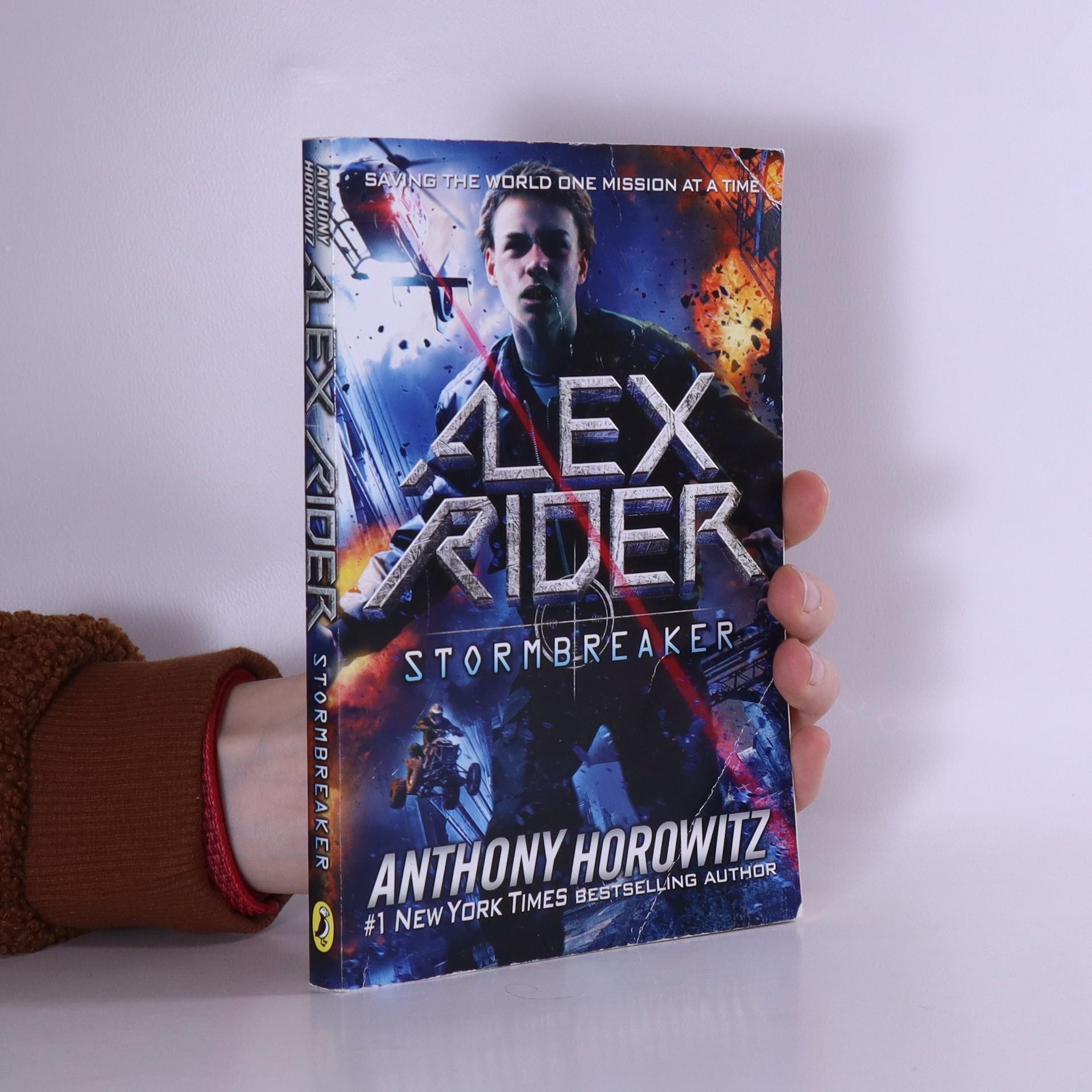 antikvární kniha Stormbreaker, 2010