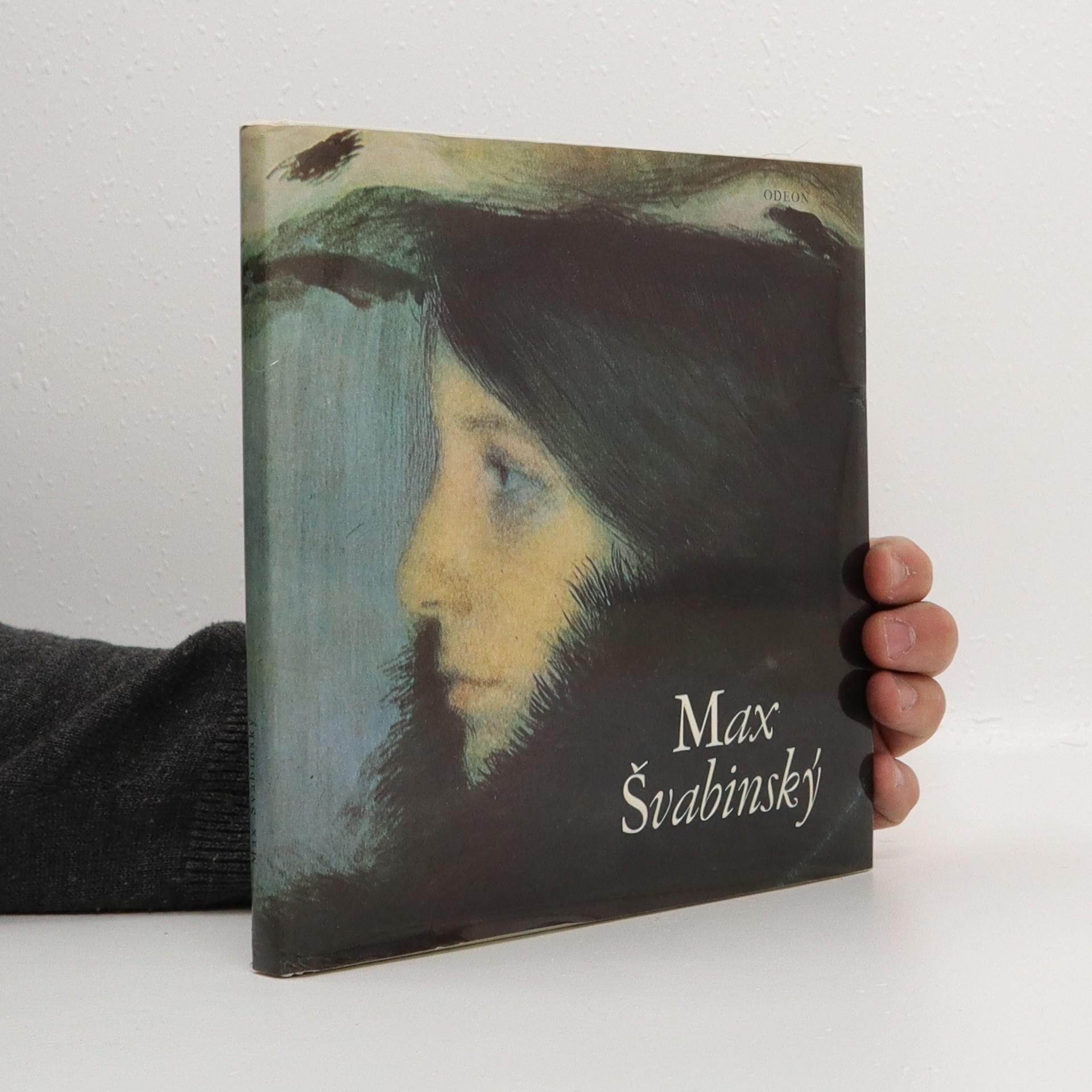 antikvární kniha Max Švabinský, 1982