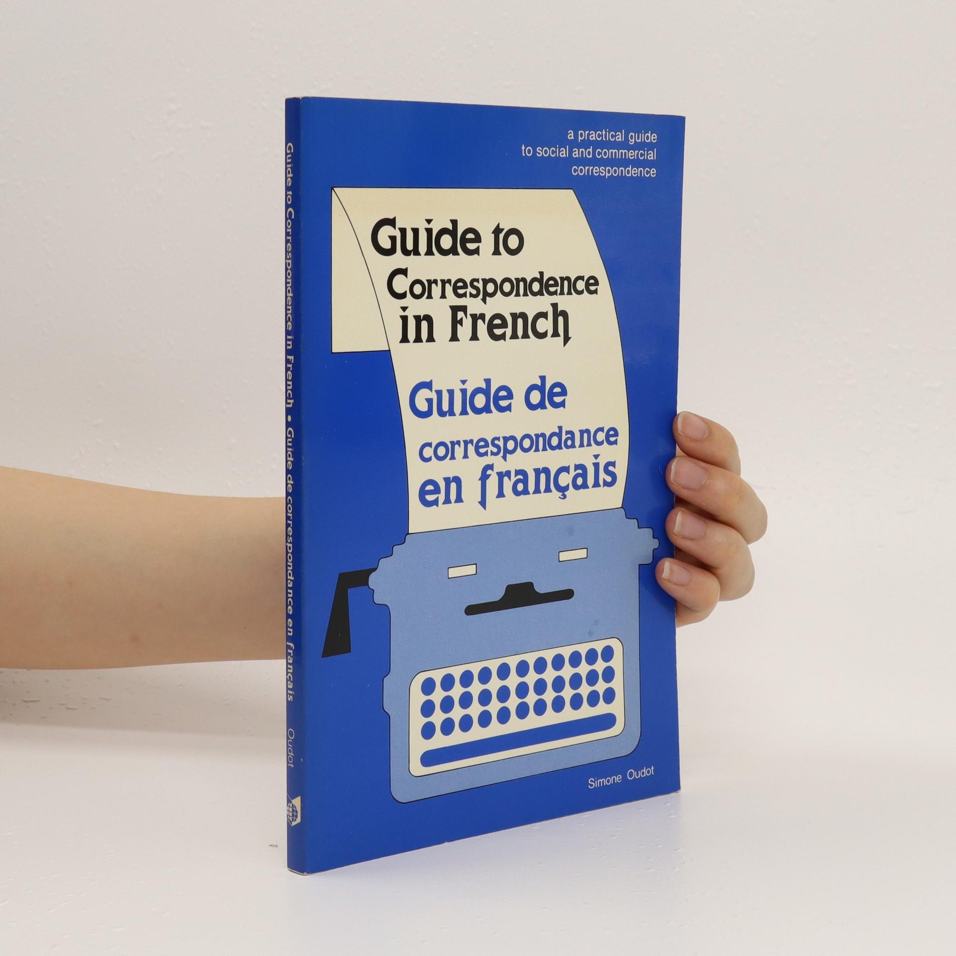 antikvární kniha Guide de correspondance en français, 1985