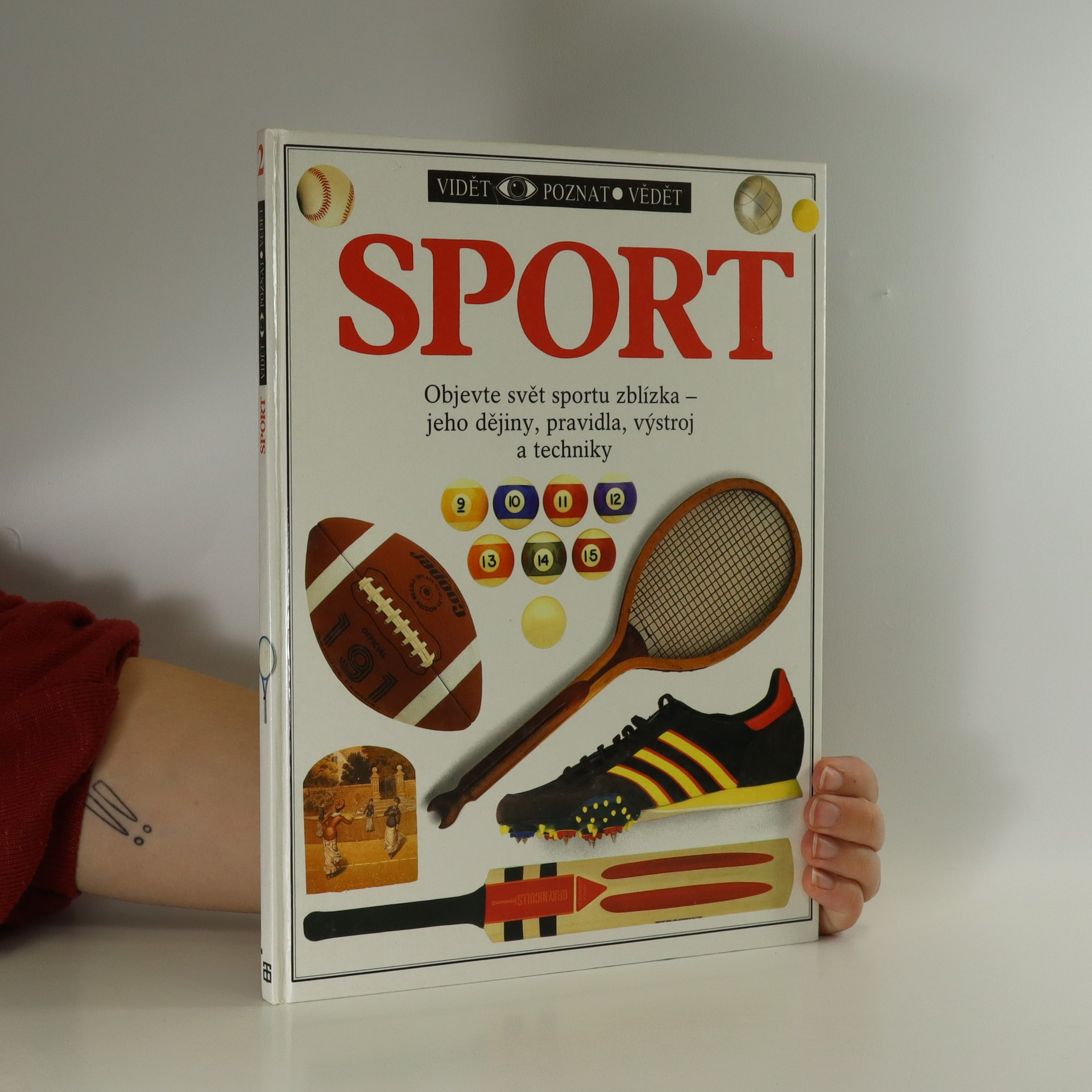 antikvární kniha Sport, 1991