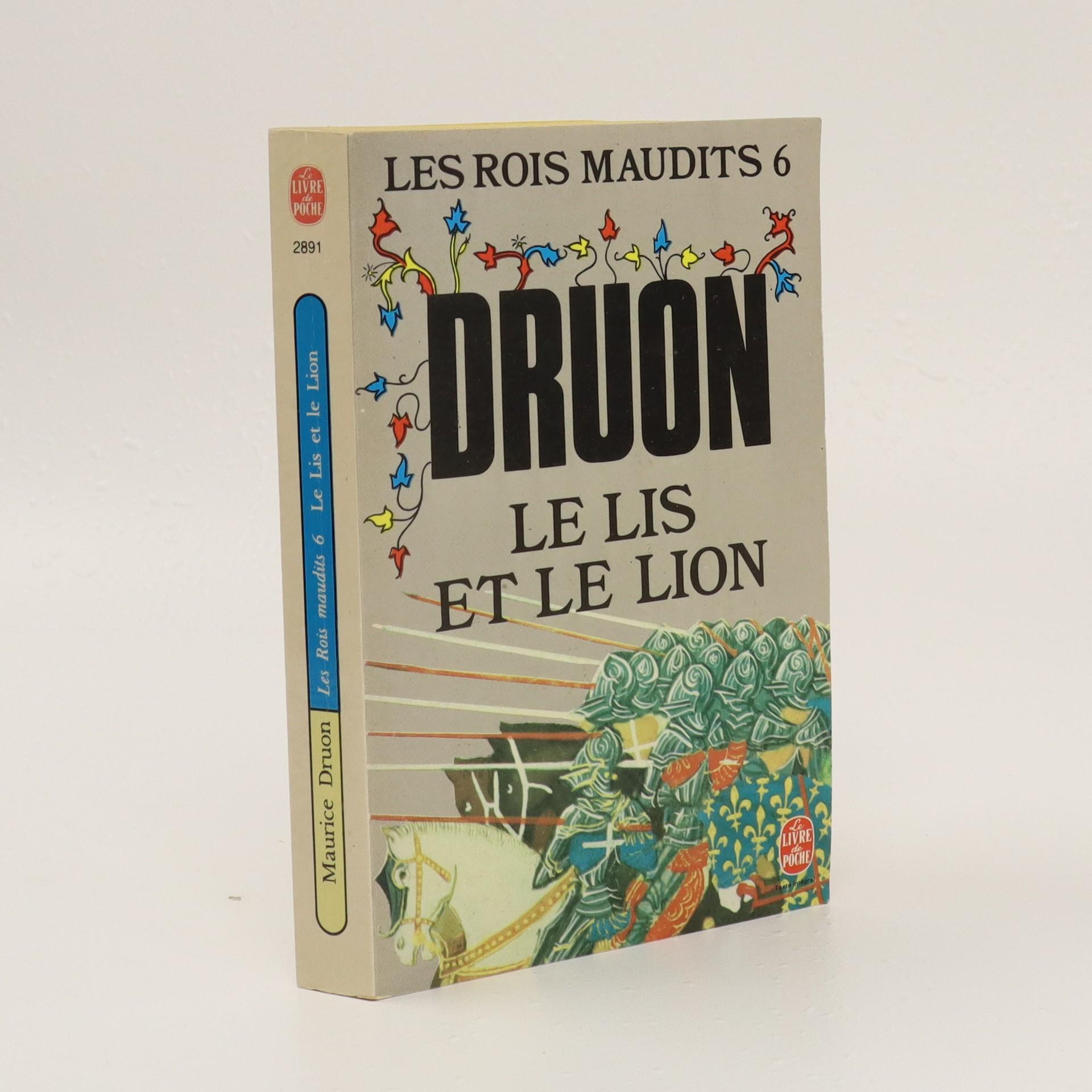 antikvární kniha Le lis et le lion, neuveden