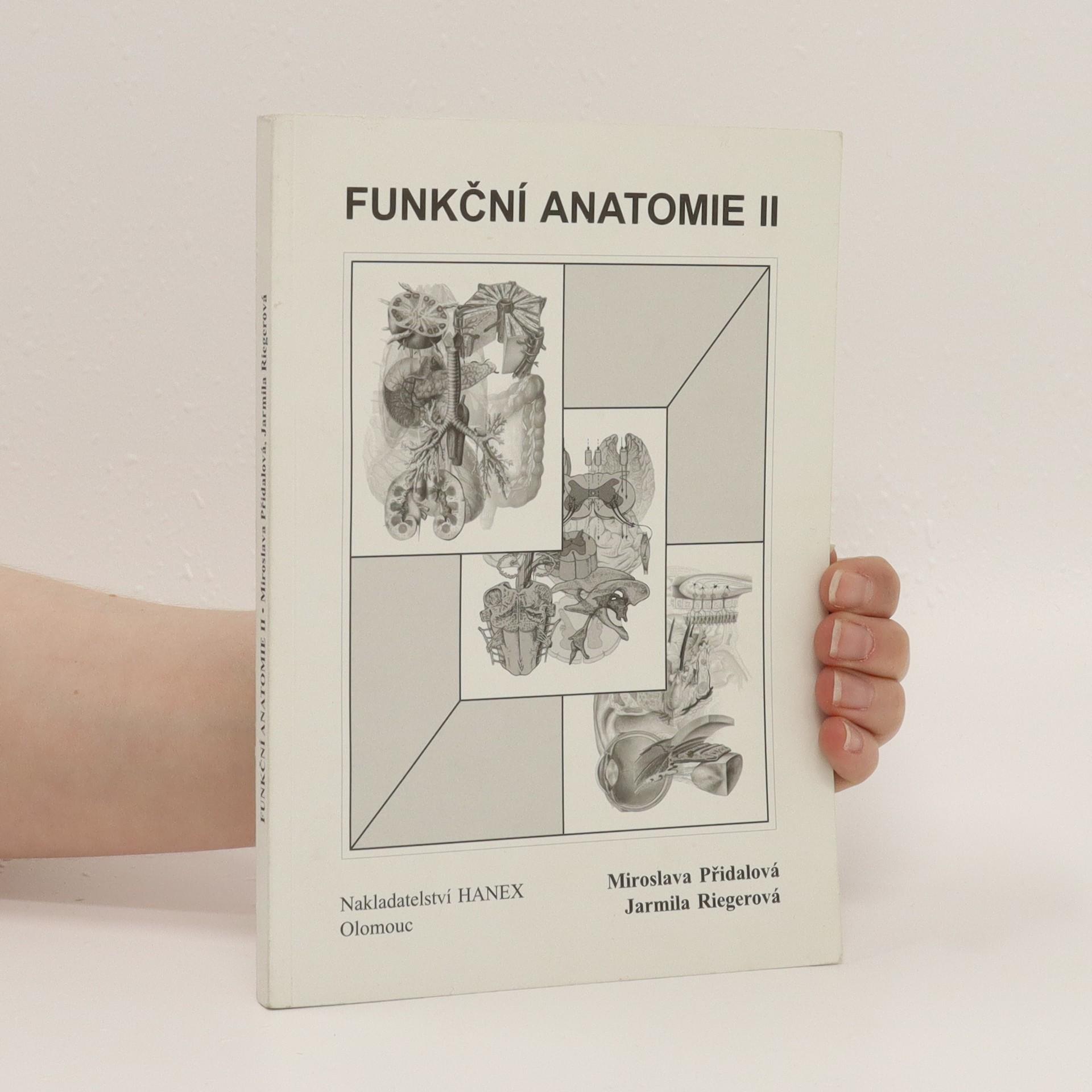 antikvární kniha Funkční anatomie II, 2009