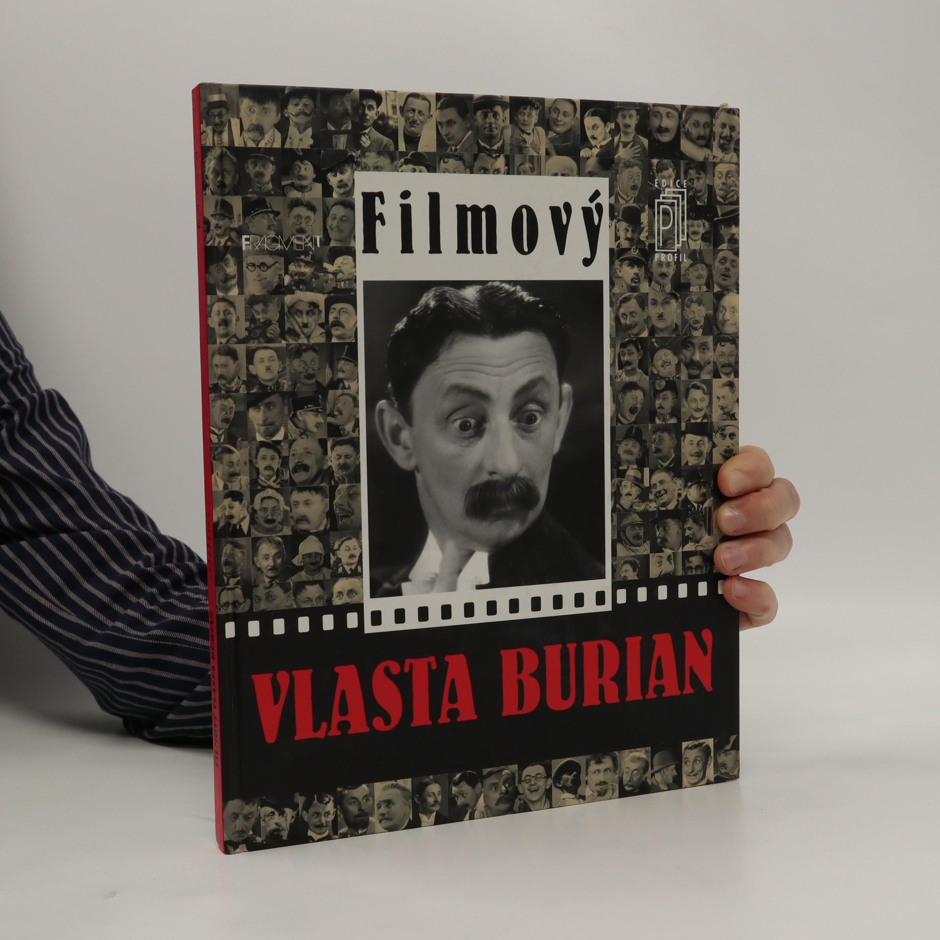 antikvární kniha Filmový Vlasta Burian, neuveden