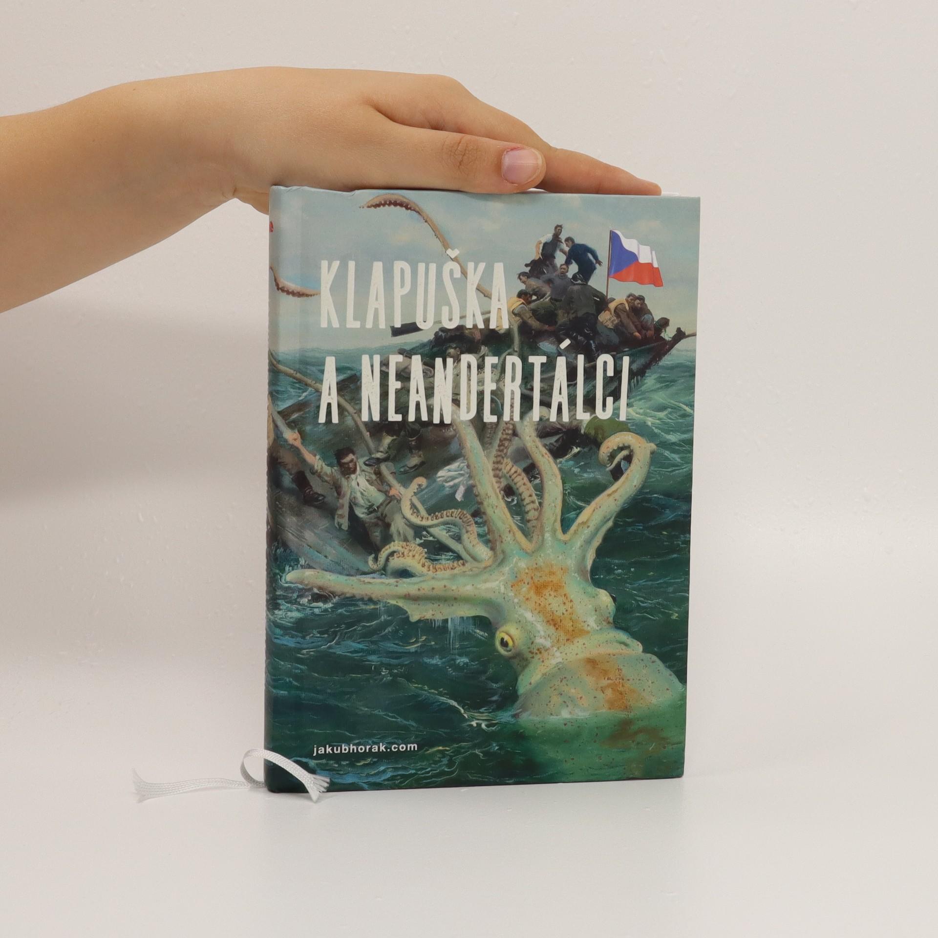 antikvární kniha Klapuška a neandertálci, 2019