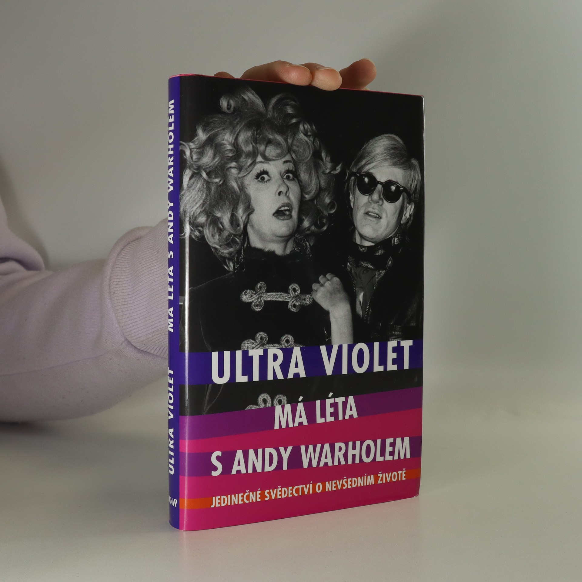 antikvární kniha Má léta s Andy Warholem, 2006