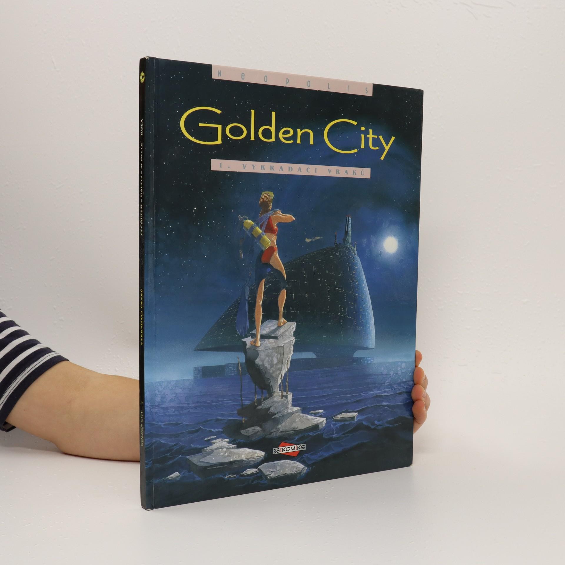 antikvární kniha Golden City. Vykradači vraků, 2002
