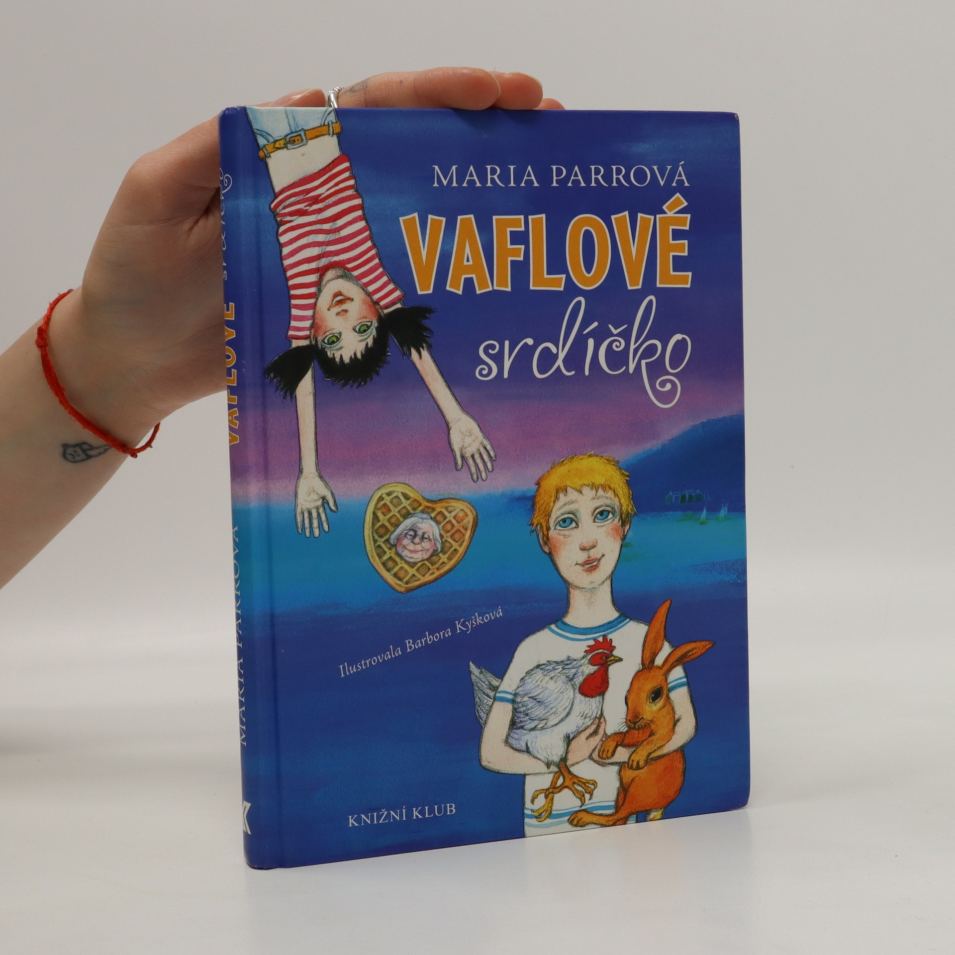 antikvární kniha Vaflové srdíčko, 2012