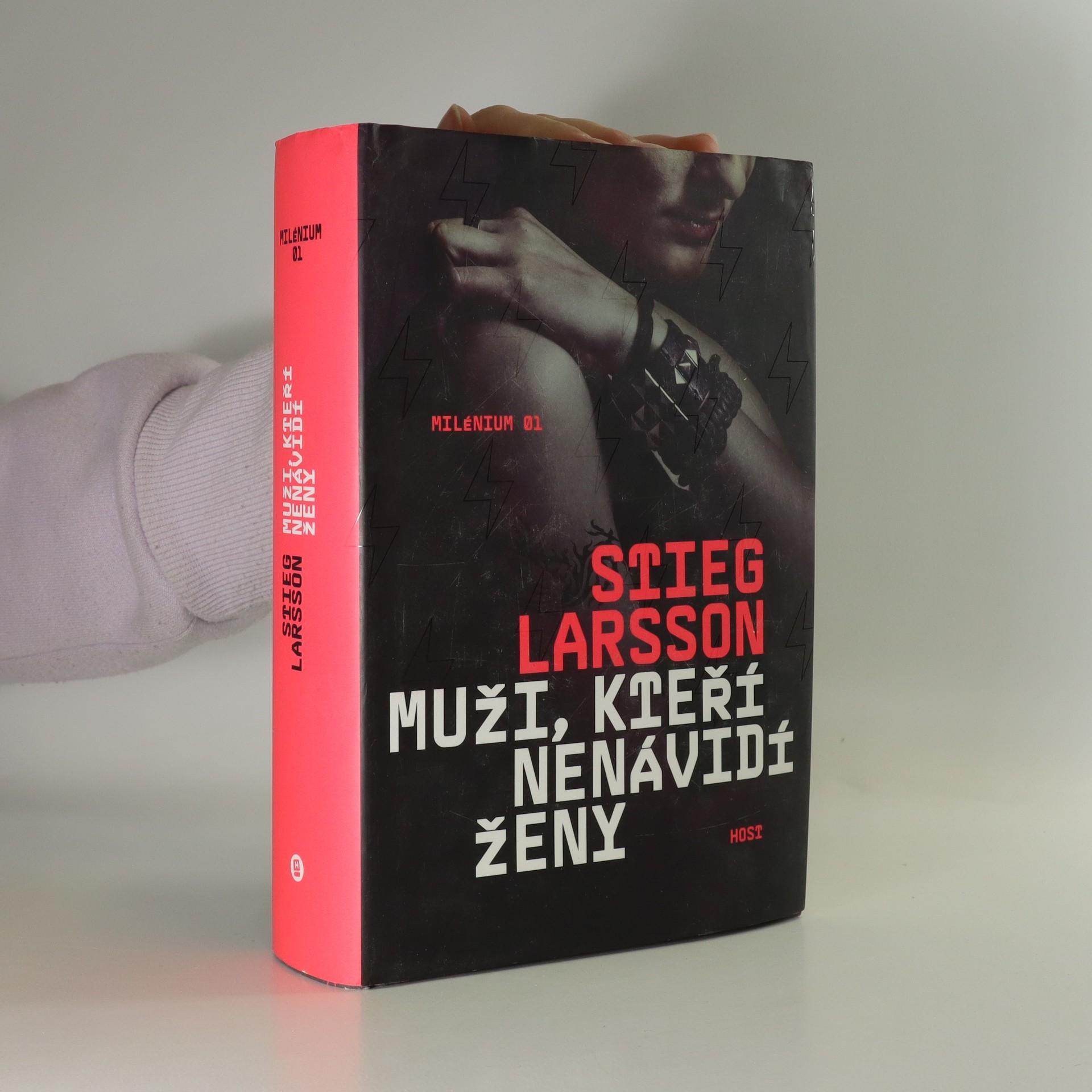 antikvární kniha Muži, kteří nenávidí ženy, 2016