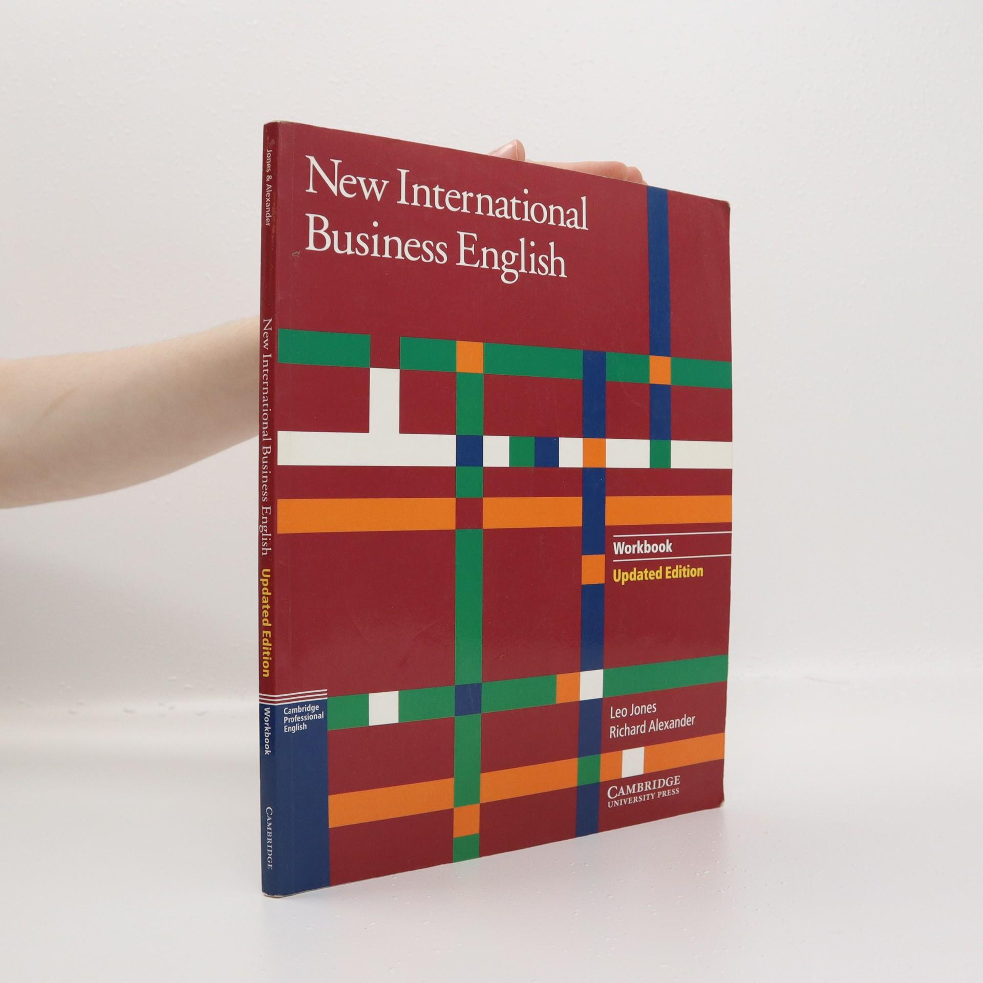 antikvární kniha New international business English :  Workbook, 2000