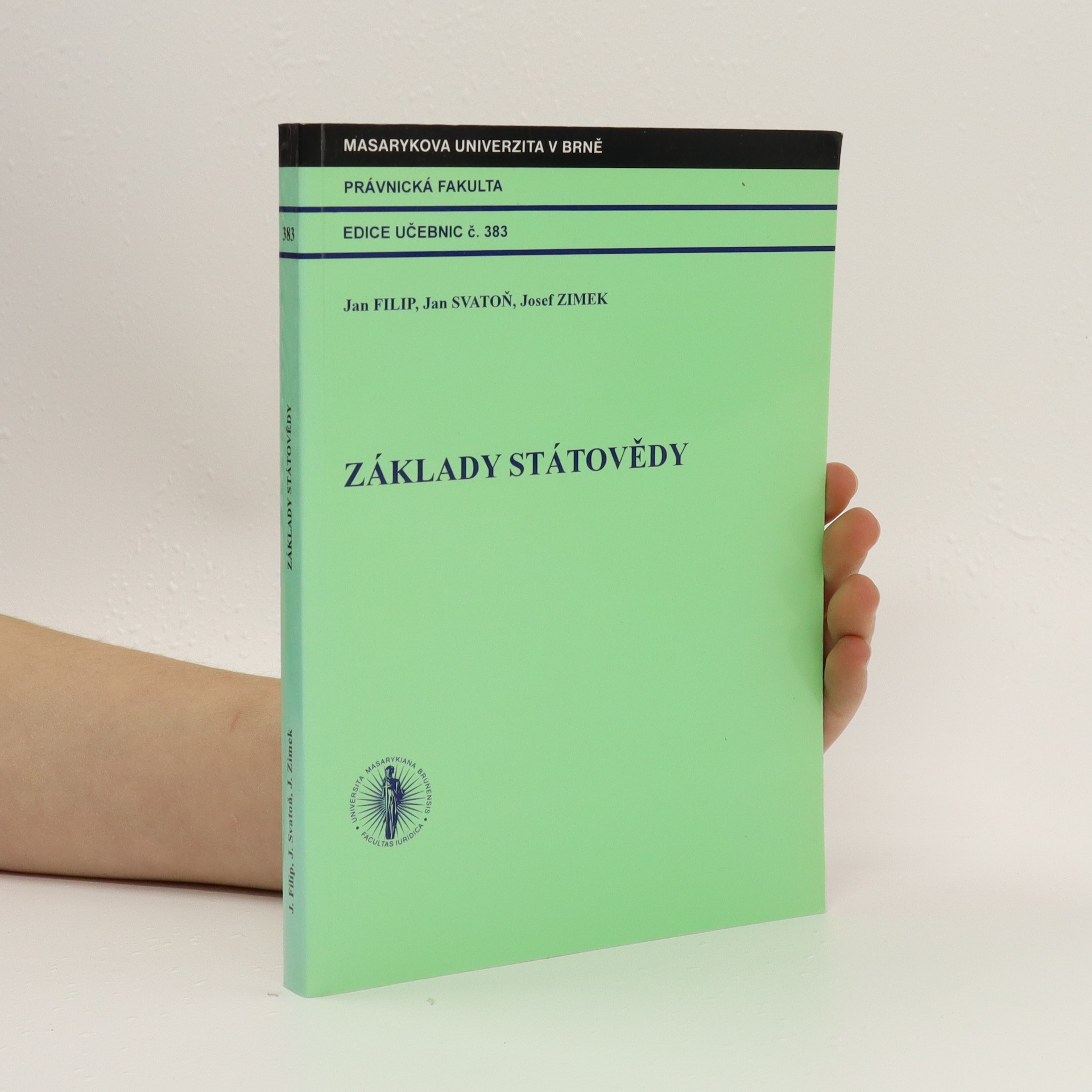 antikvární kniha Základy státovědy, 2006