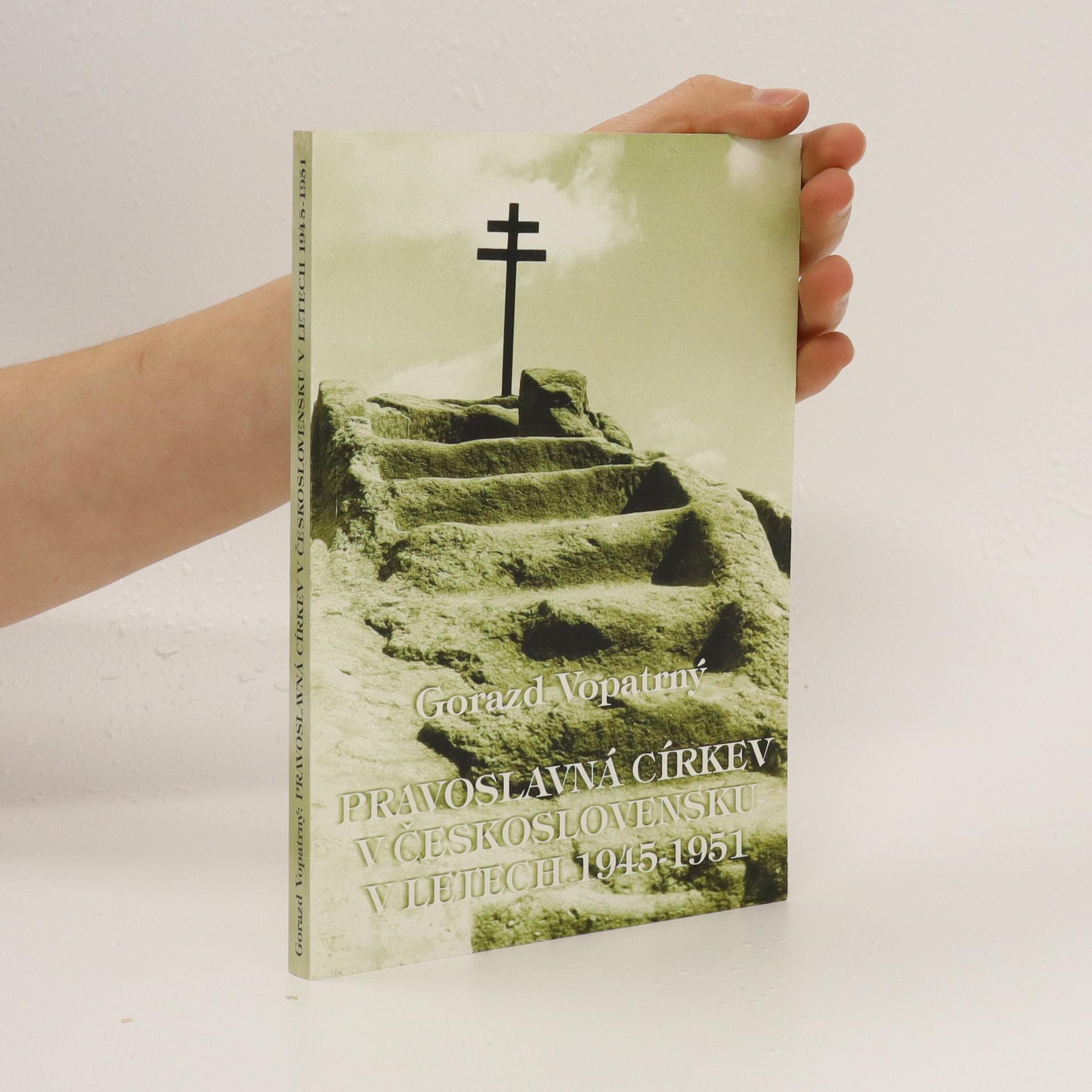 antikvární kniha Pravoslavná církev v Československu v letech 1945-1951, 1998