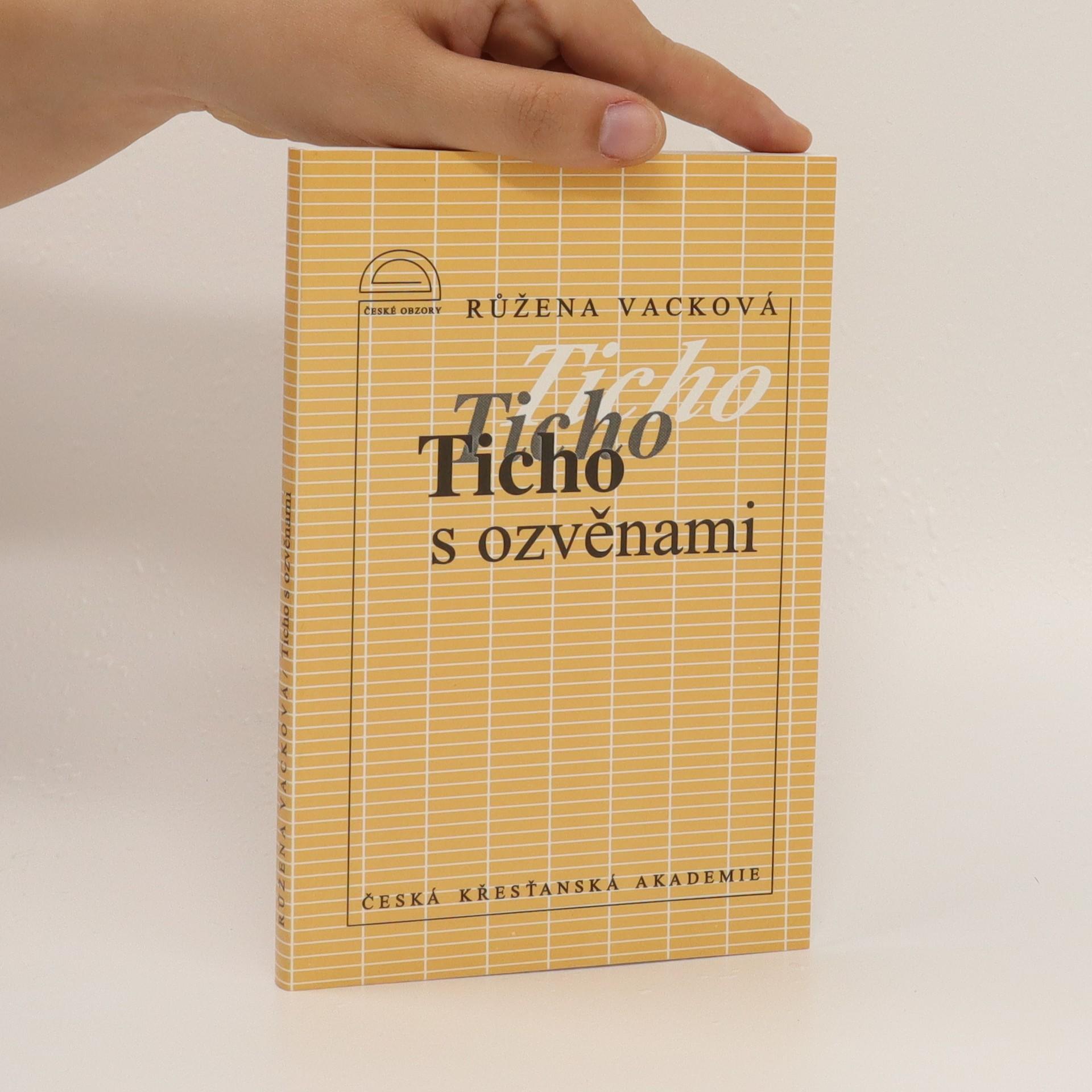 antikvární kniha Ticho s ozvěnami : dopisy z vězení z let 1952-1967, 1994