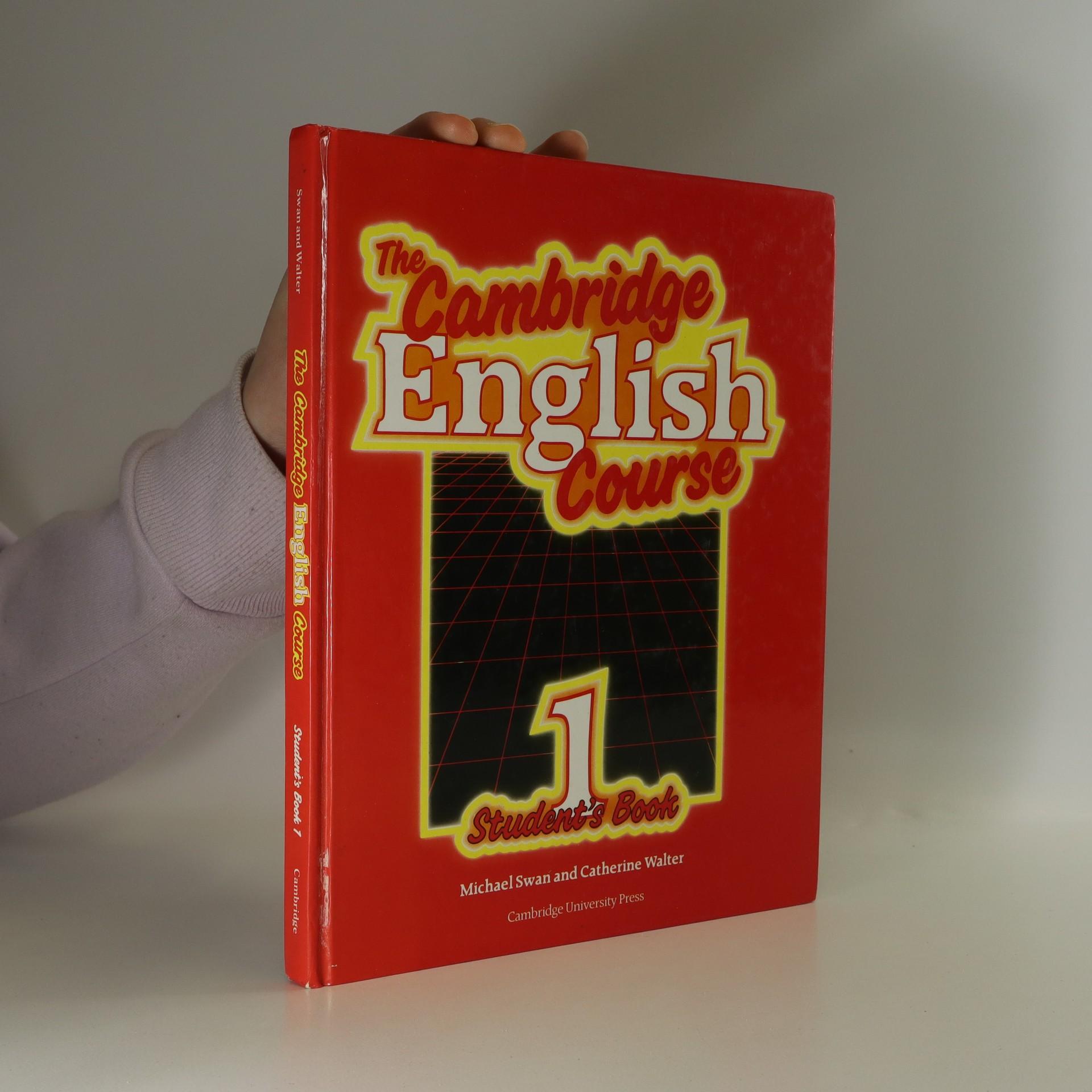 antikvární kniha The Cambridge English Course. Student's Book 1, 1991