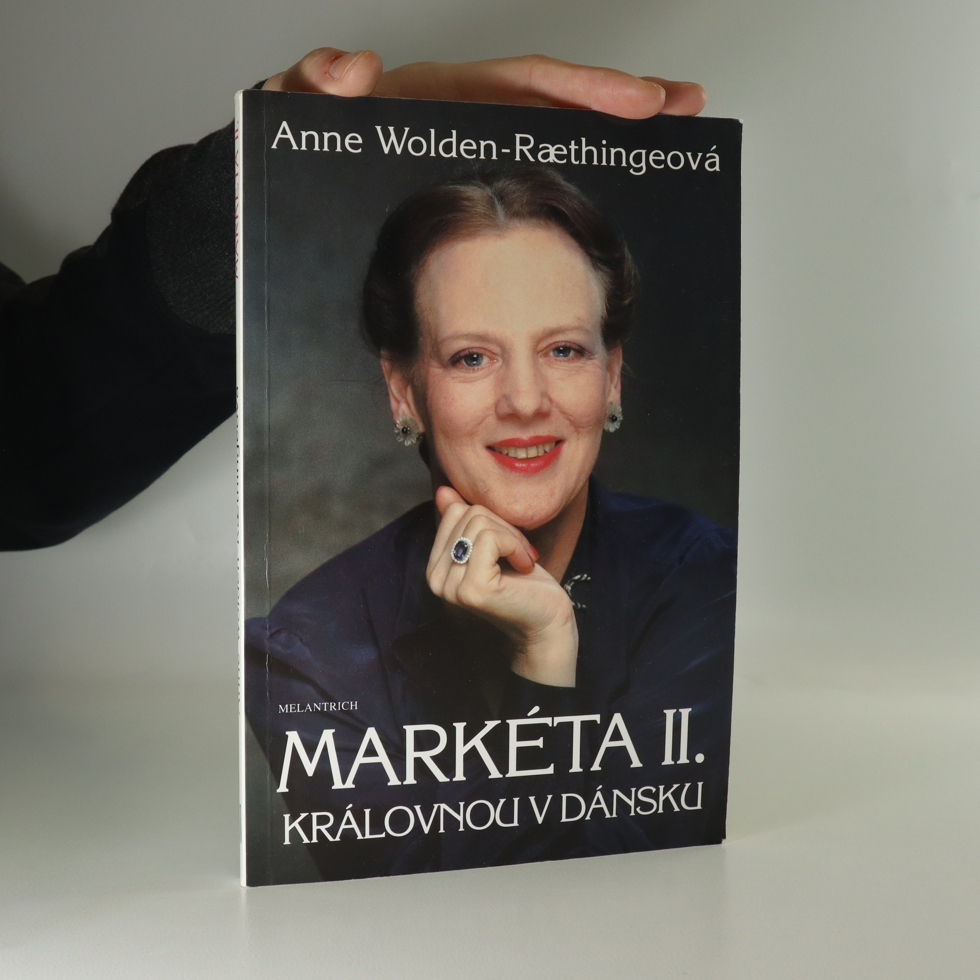 antikvární kniha Markéta II. Královnou v Dánsku, 1990