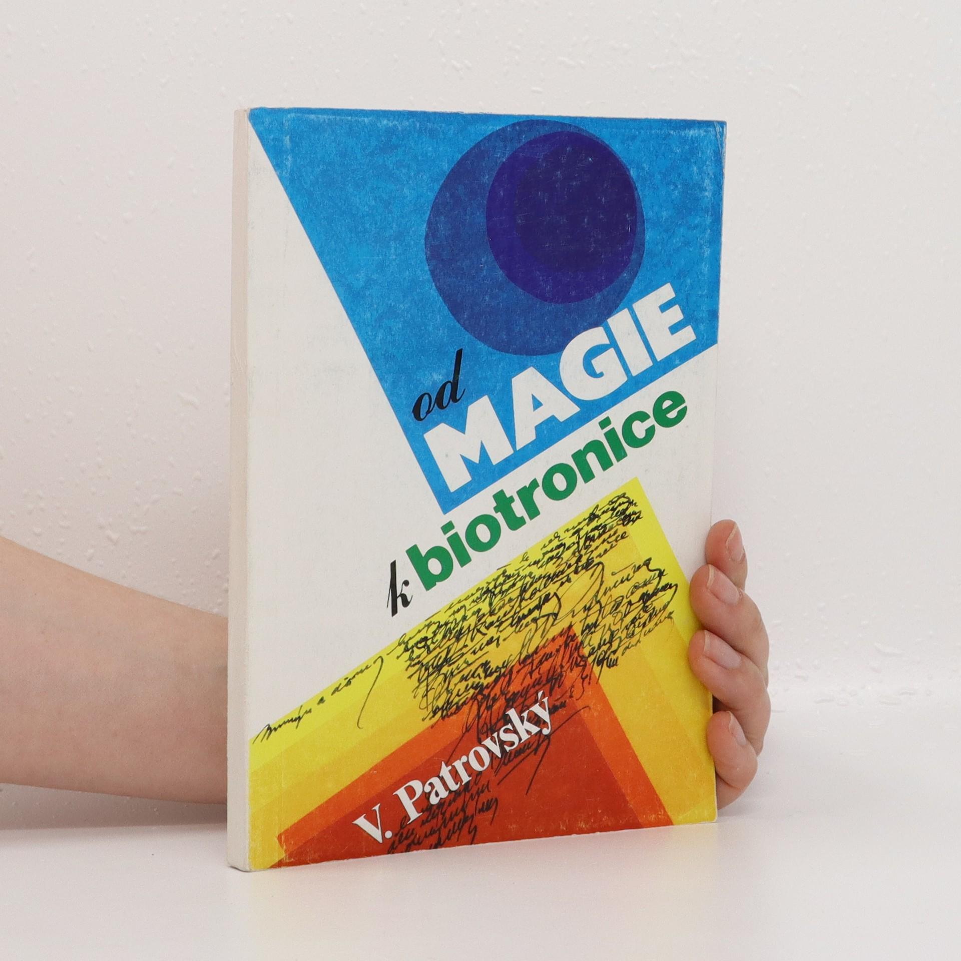 antikvární kniha Od magie k biotronice, neuveden