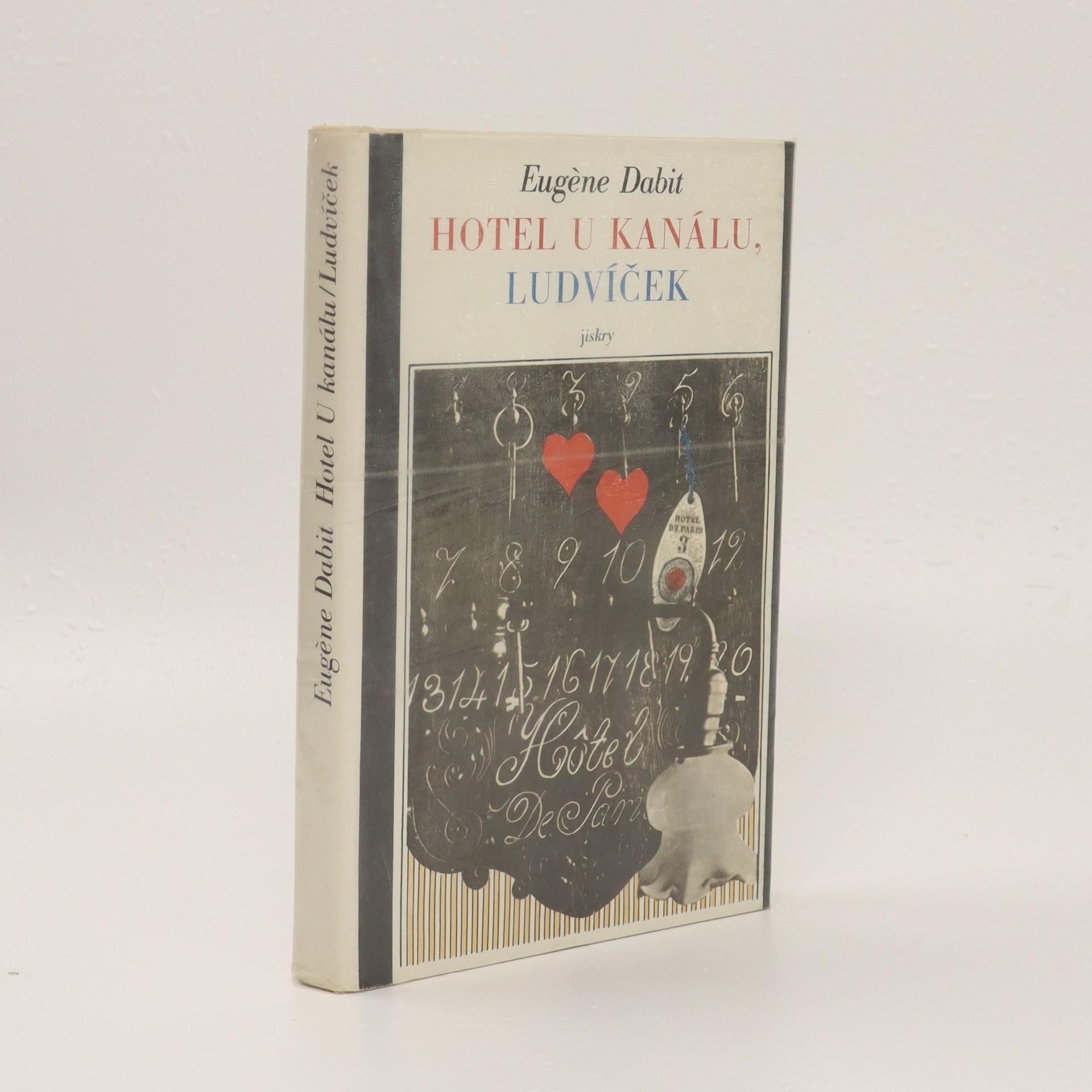 antikvární kniha Hotel u kanálu, Ludvíček, 1981