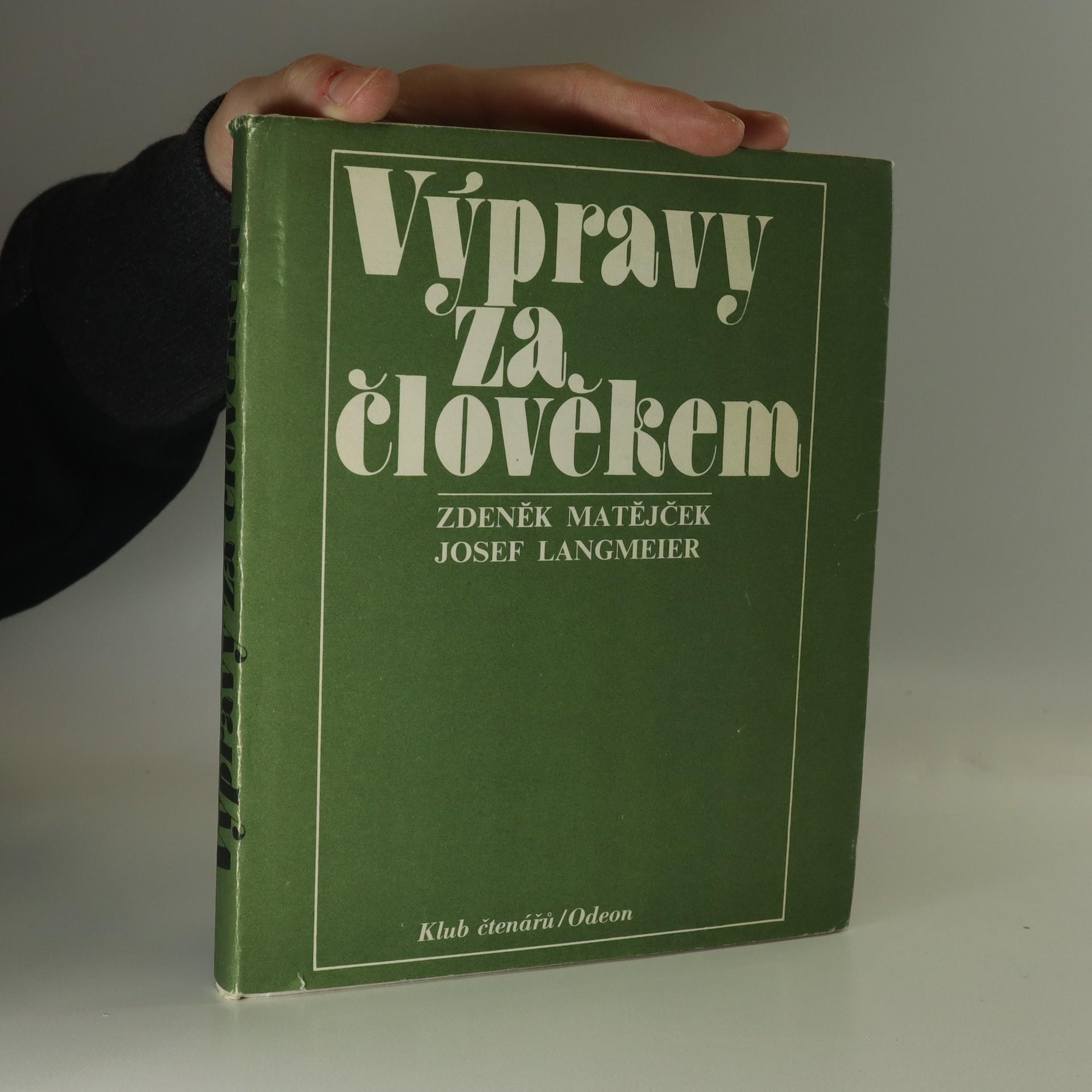 antikvární kniha Výpravy za člověkem, 1981