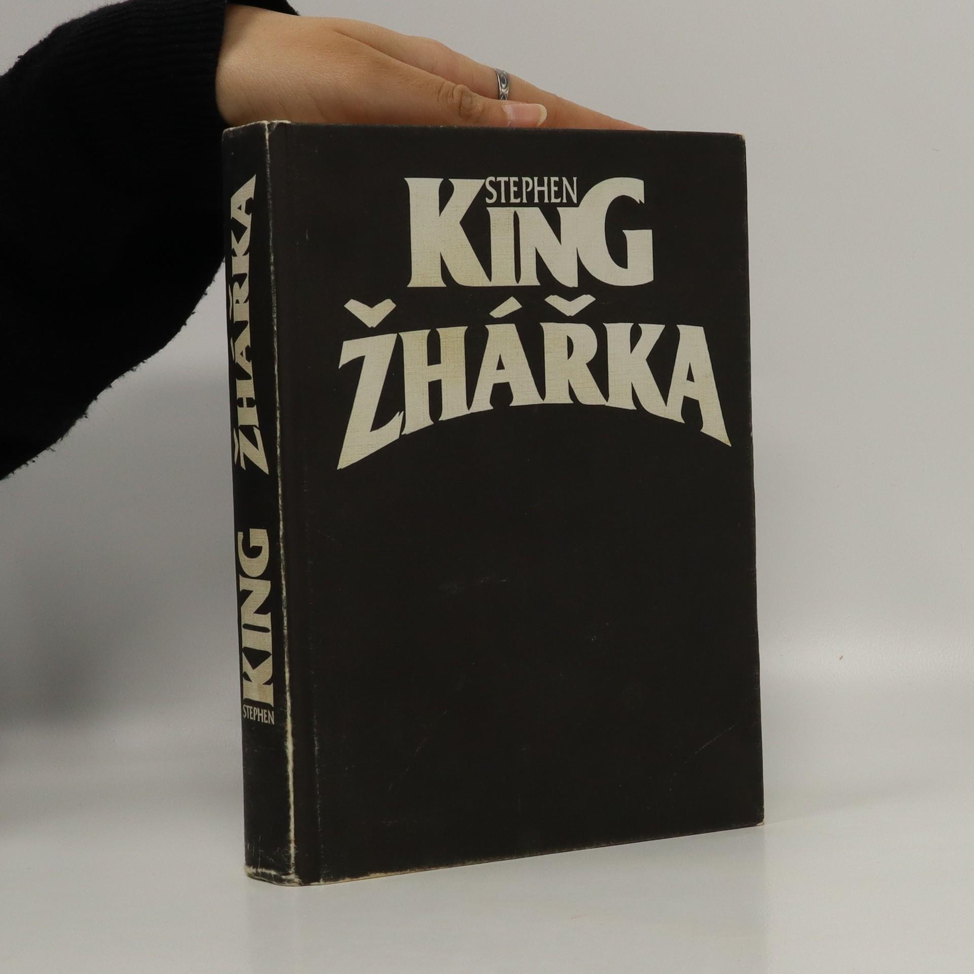 antikvární kniha Žhářka, 1998