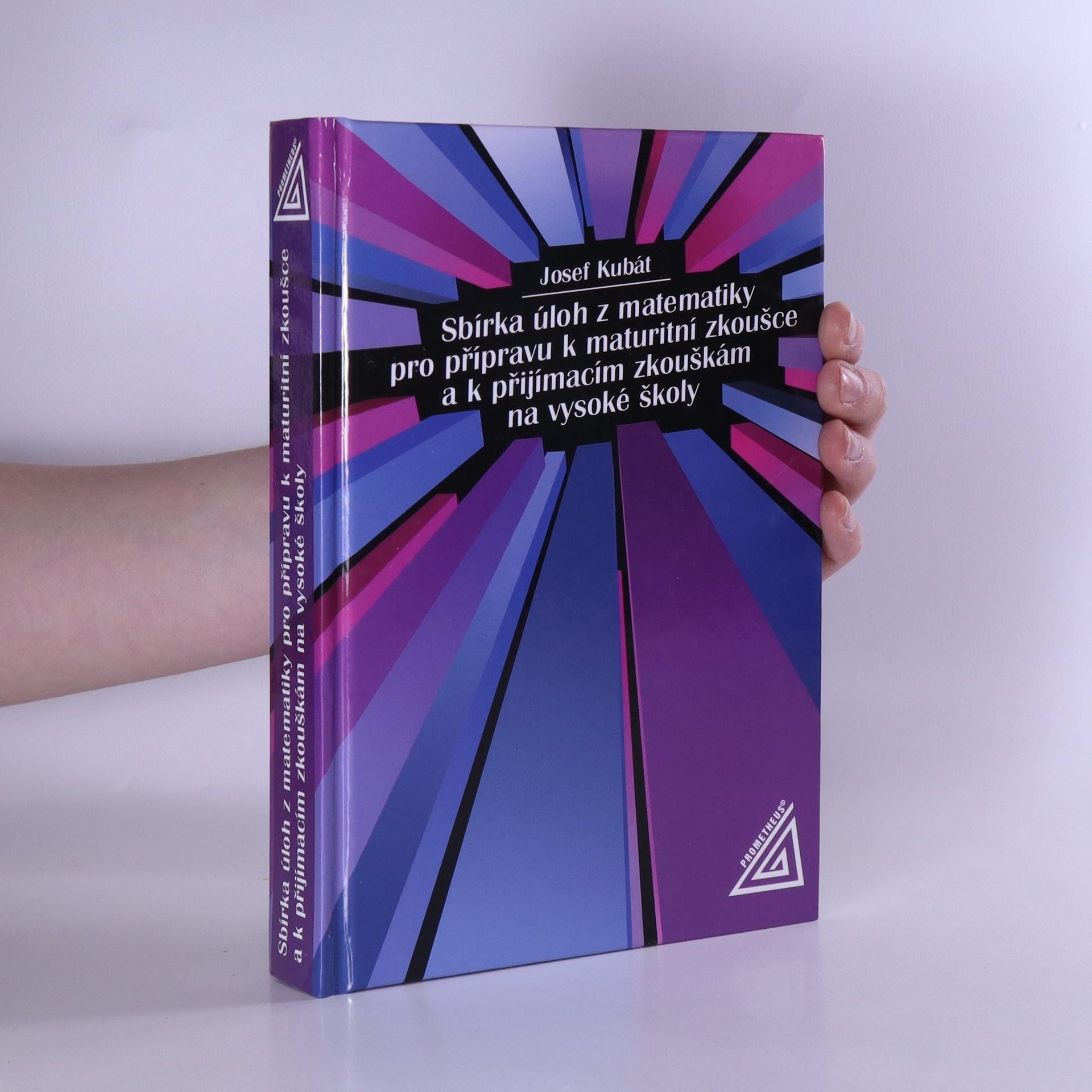 antikvární kniha Sbírka úloh z matematiky pro přípravu k maturitní zkoušce a k přijímacím zkouškám na vysoké školy, 2004