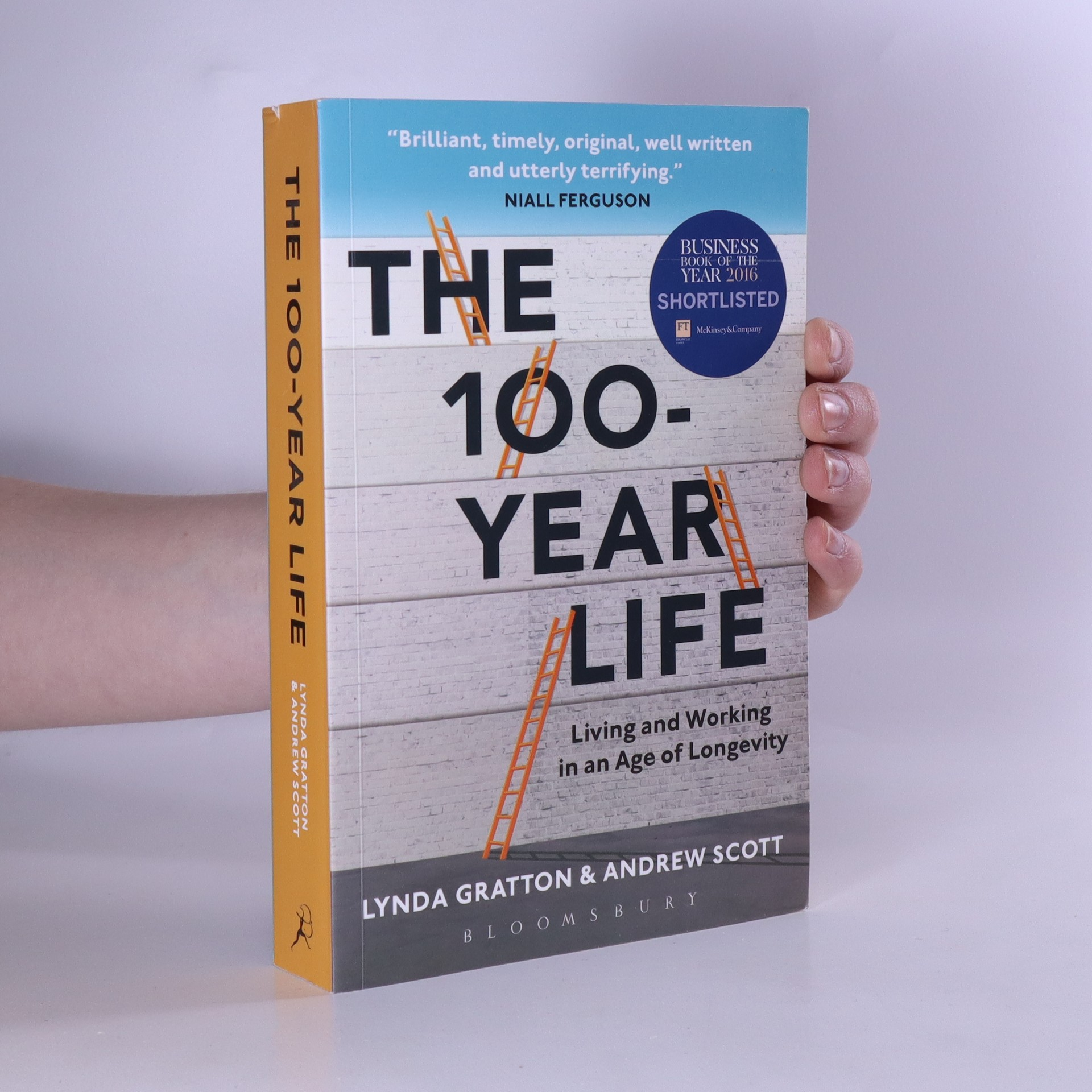 antikvární kniha The 100-year life. Living and working in an age of longevity, 2017