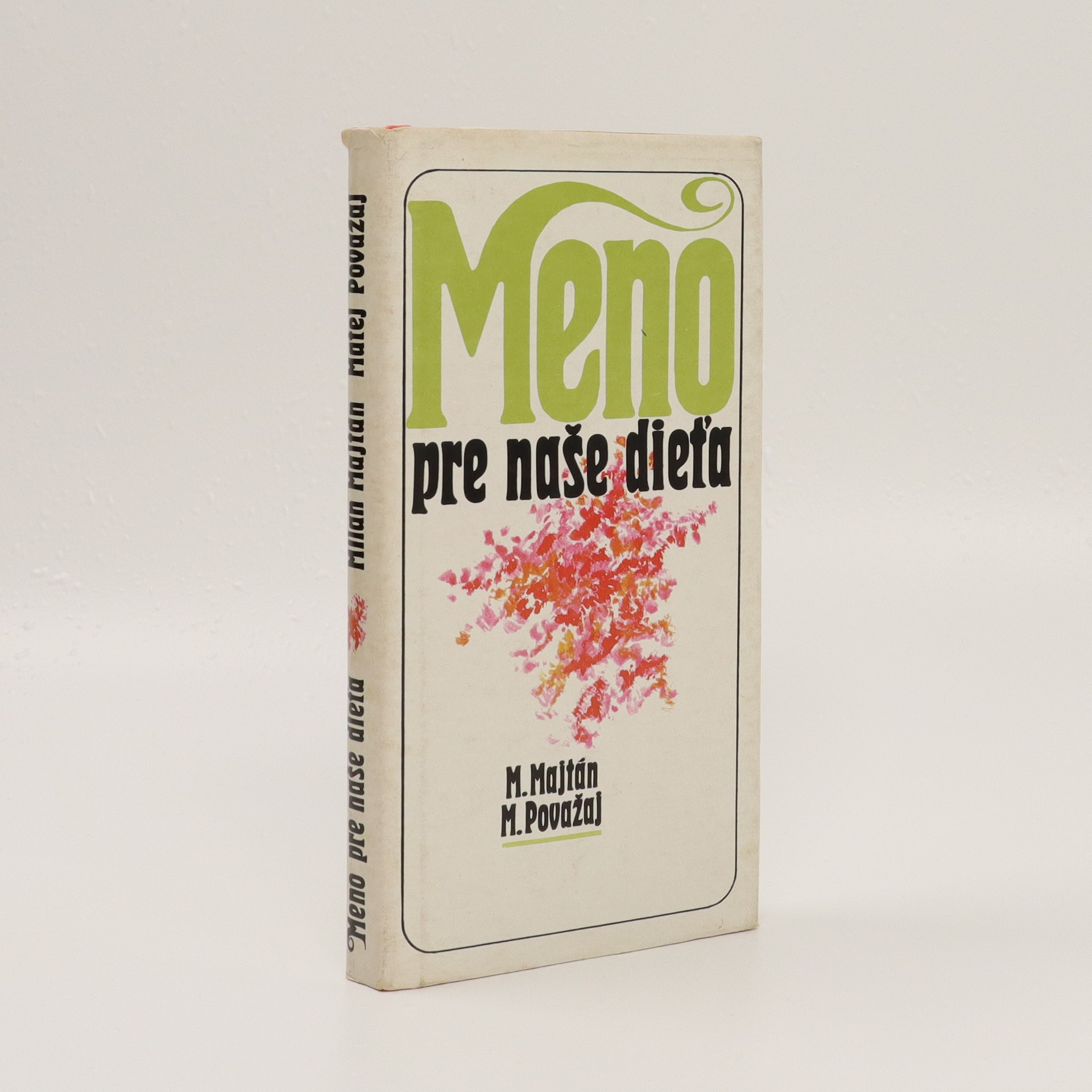 antikvární kniha Meno pre naše dieťa, 1983