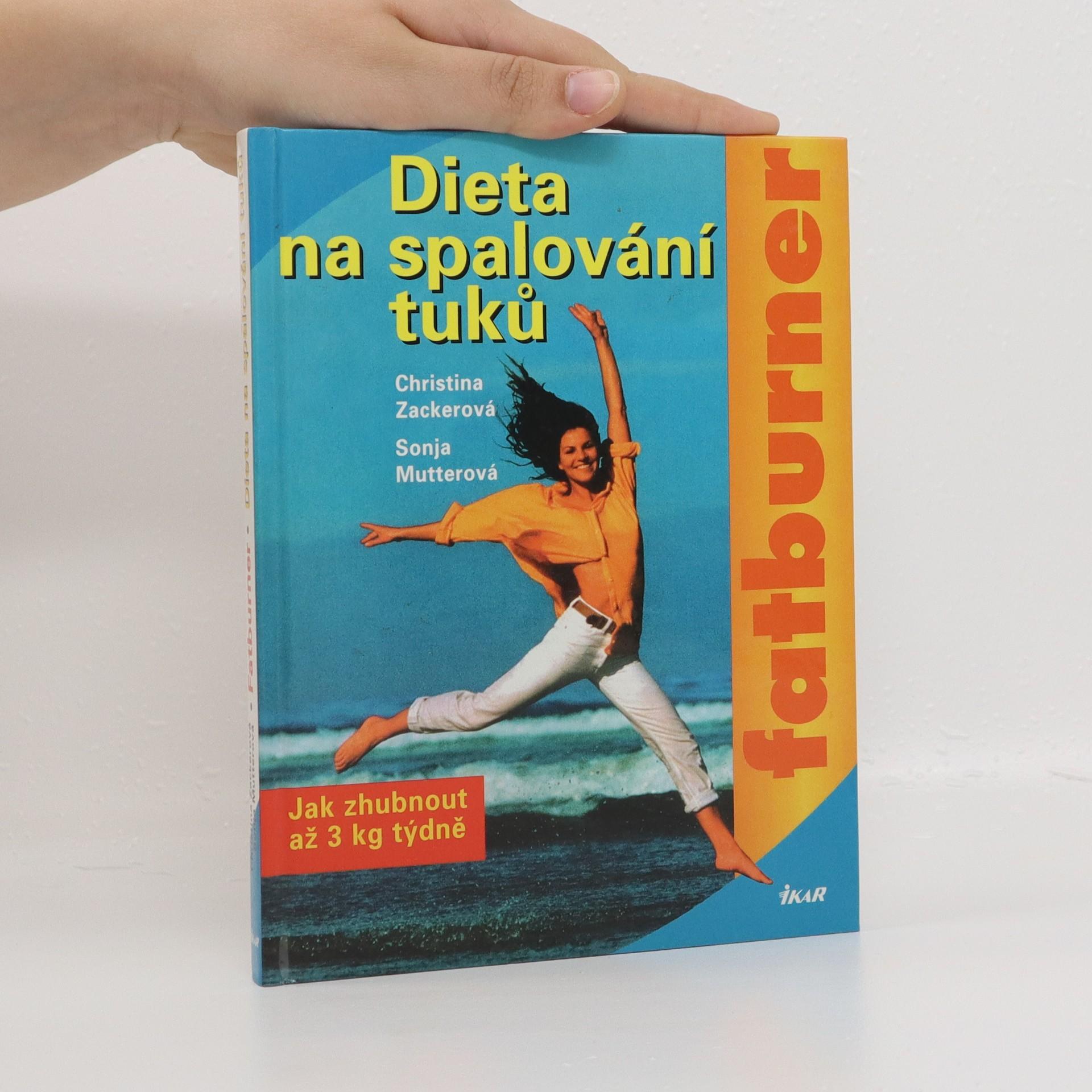 antikvární kniha Dieta na spalování tuků, 2001
