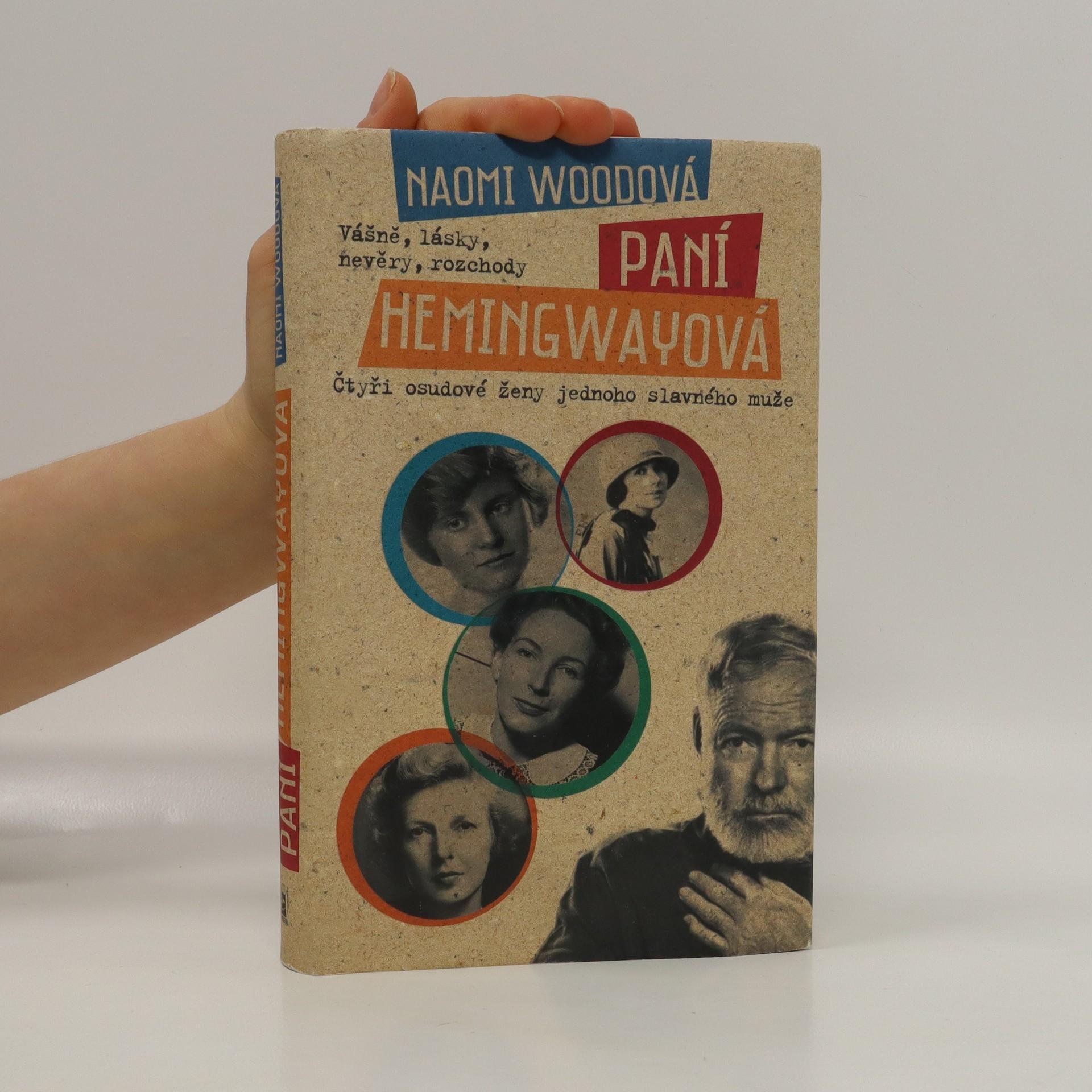 antikvární kniha Paní Hemingwayová, 2014