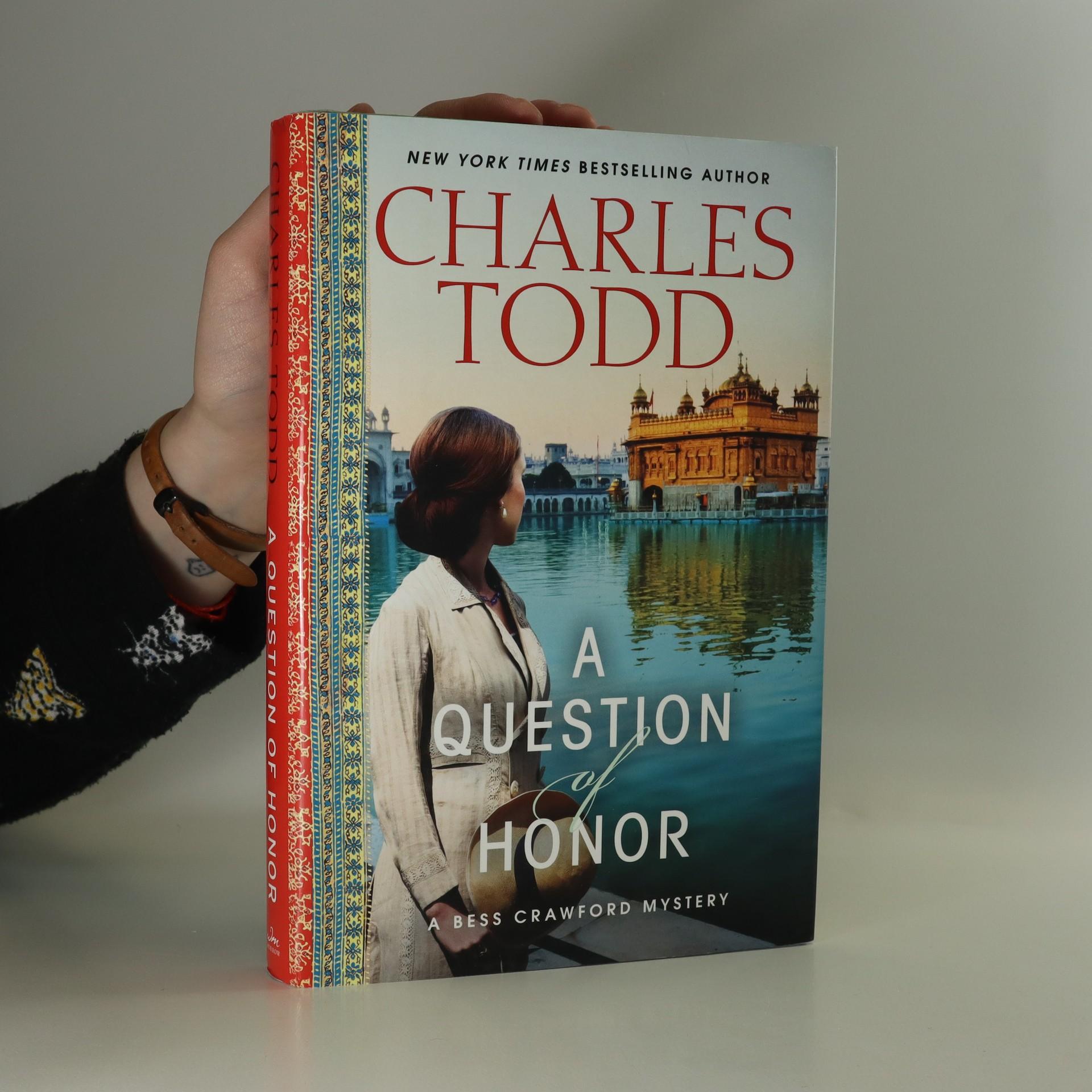 antikvární kniha A Question of Honor, 2013